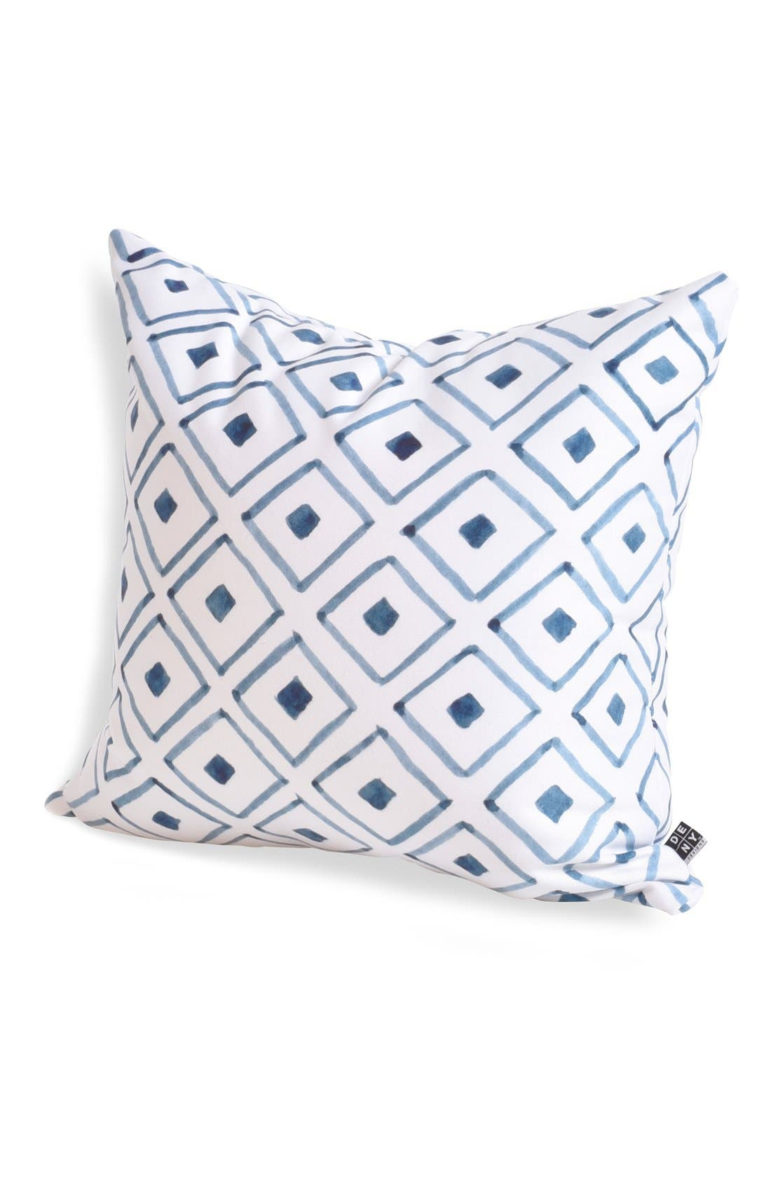 'Social Proper Ascot' Pillow,                             Main thumbnail 1, color,                             Blue