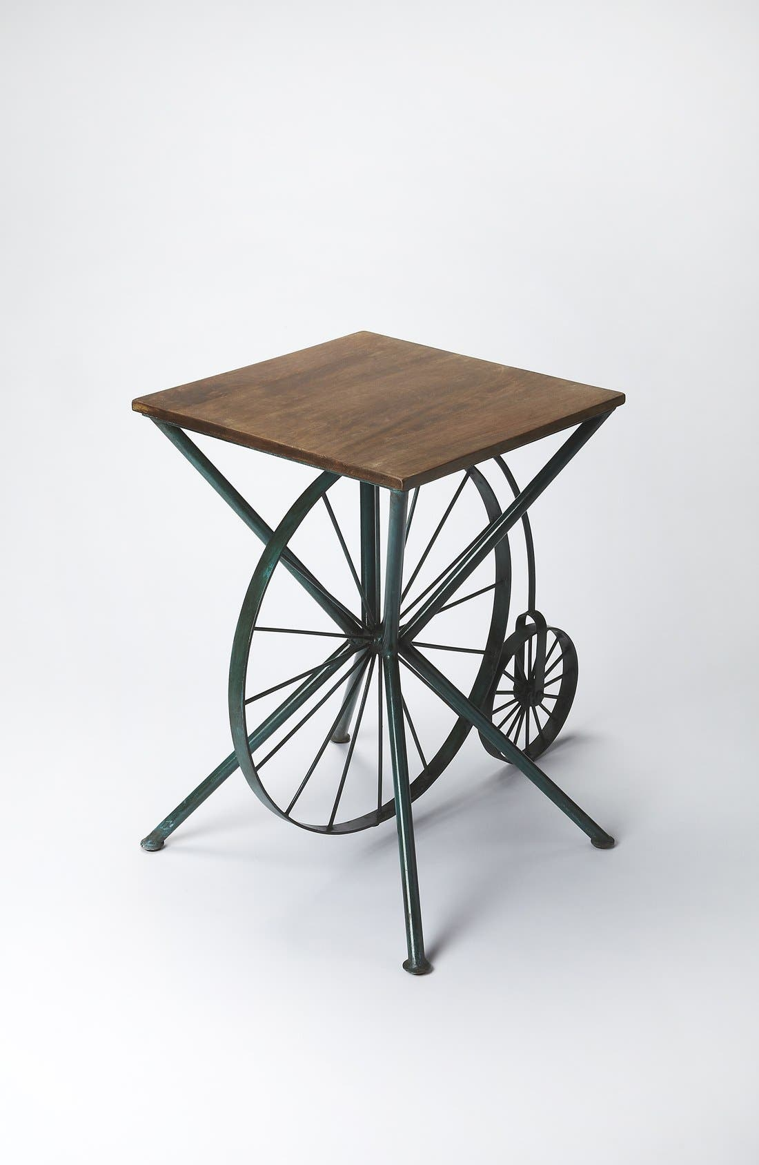 Bicycle Accent Table,                             Alternate thumbnail 2, color,                             Brown