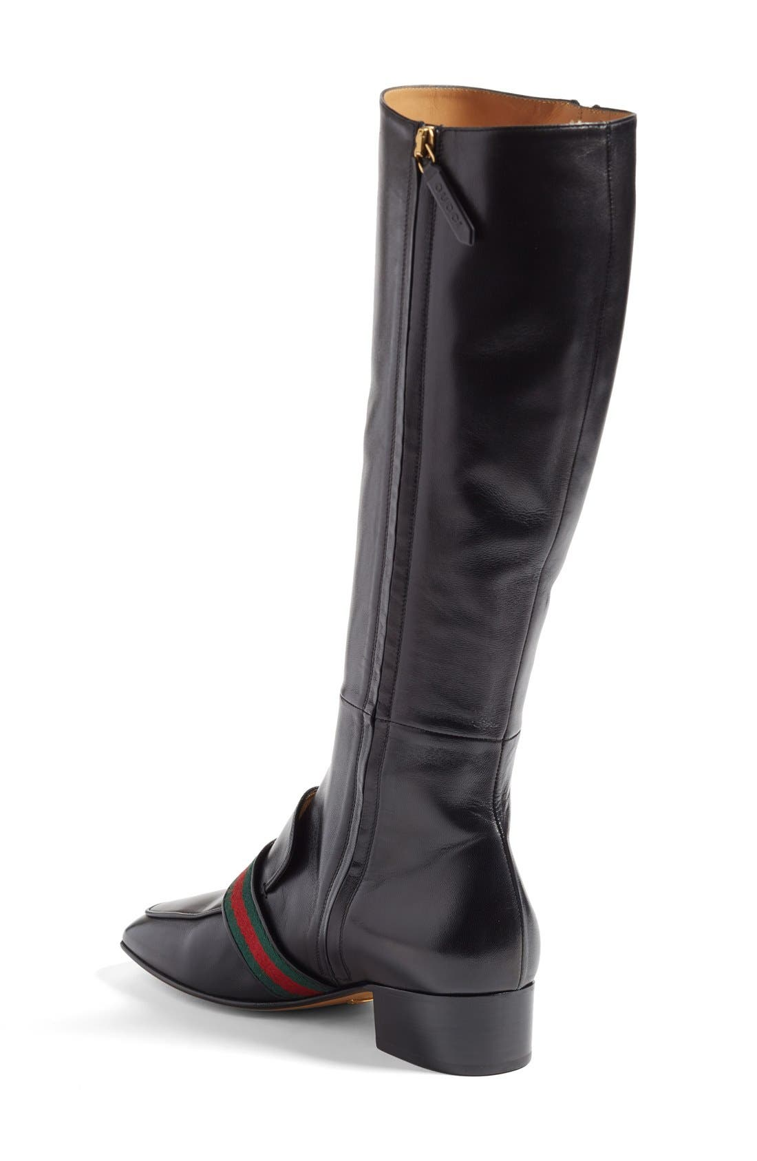 Alternate Image 2  - Gucci 'Peyton' Tall Boot (Women)
