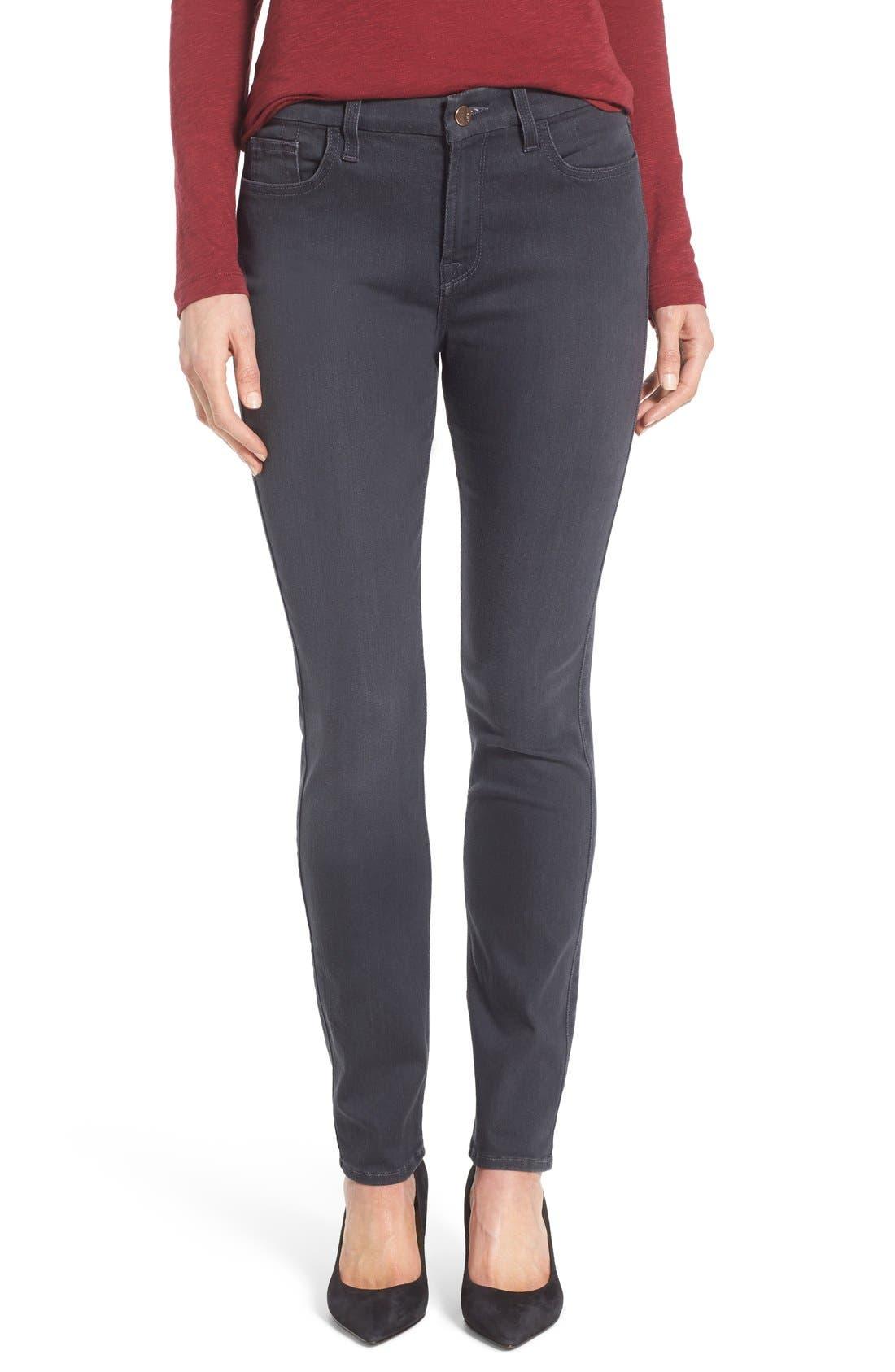 Stretch Skinny Jeans,                             Main thumbnail 1, color,                             Vapor Grey