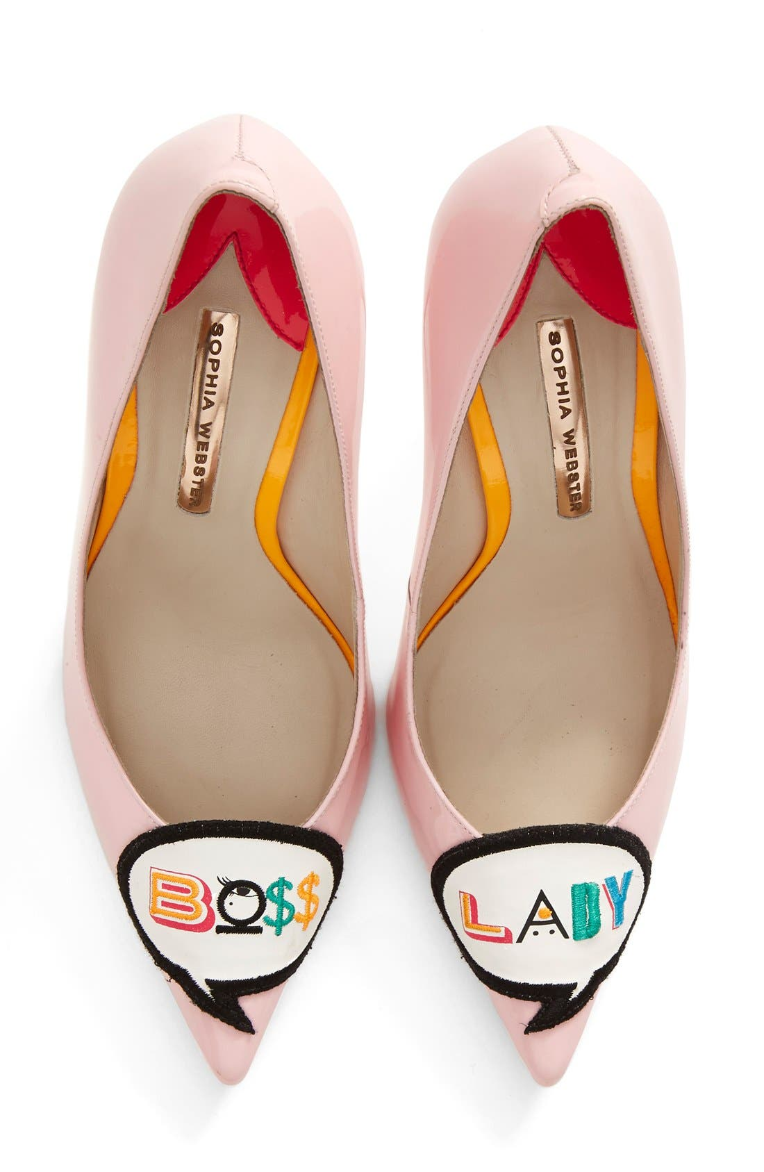 Main Image - Sophia Webster 'Boss Lady' Pointy Toe Pump (Women)