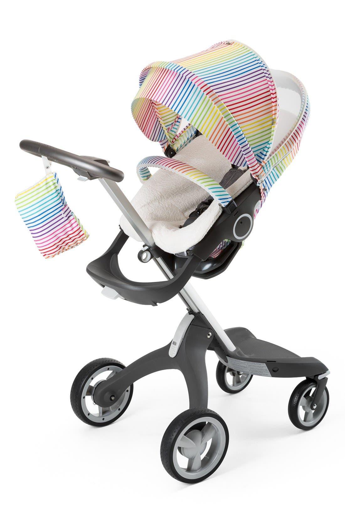 'Xplory<sup>®</sup> Stroller Summer Kit' Shade Set,                         Main,                         color, Multi Stripe
