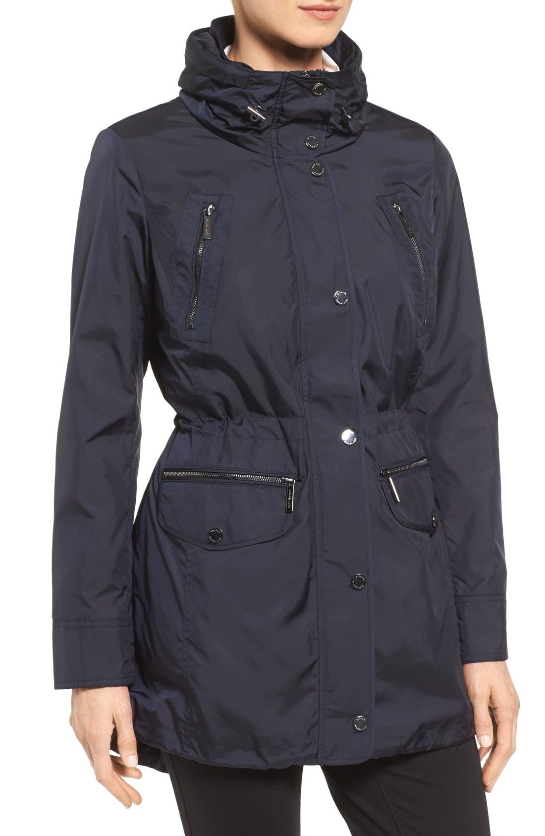 Alternate Image 4  - MICHAEL Michael Kors Hooded Anorak (Regular & Petite)