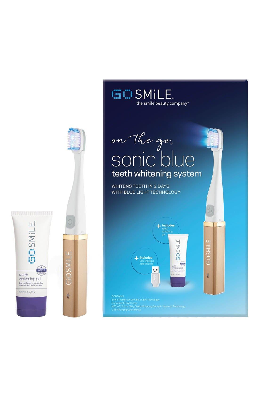 Alternate Image 4  - GO SMiLE® 'Dental Pro On-the-Go - Sonic Blue' Teeth Whitening System