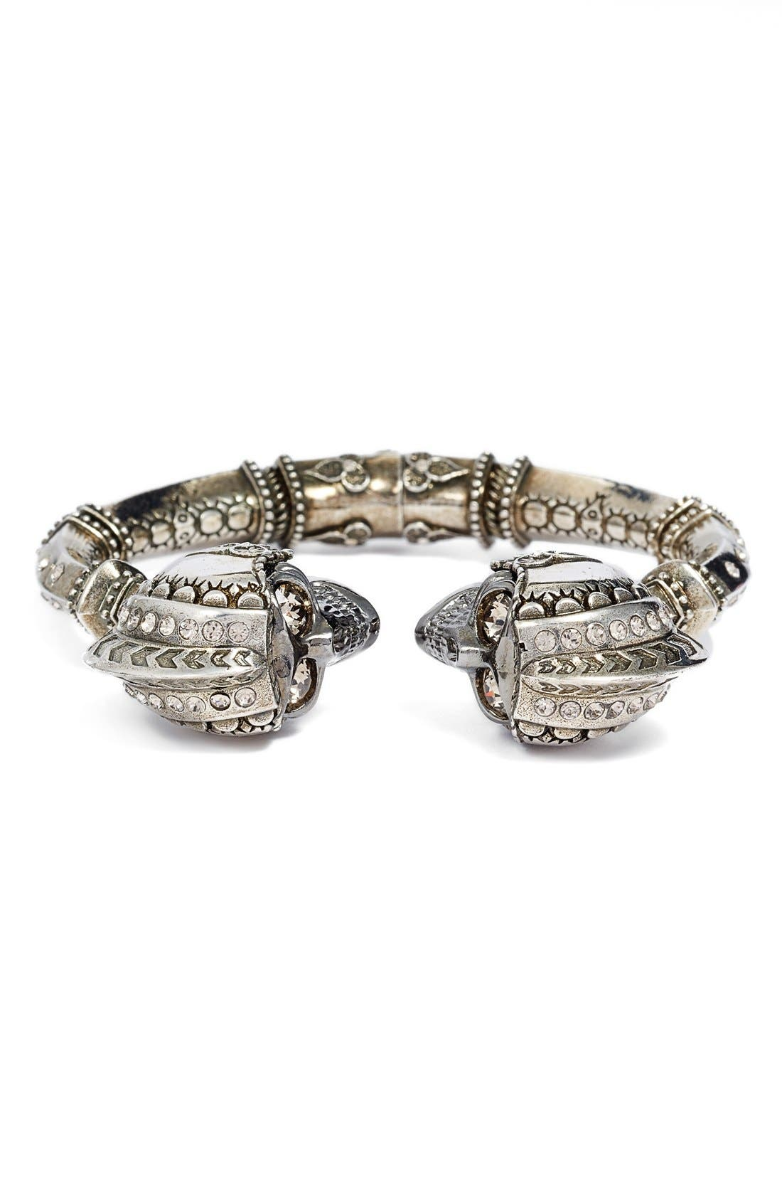 Alternate Image 1 Selected - Alexander McQueen 'Armour' Twin Skull Cuff