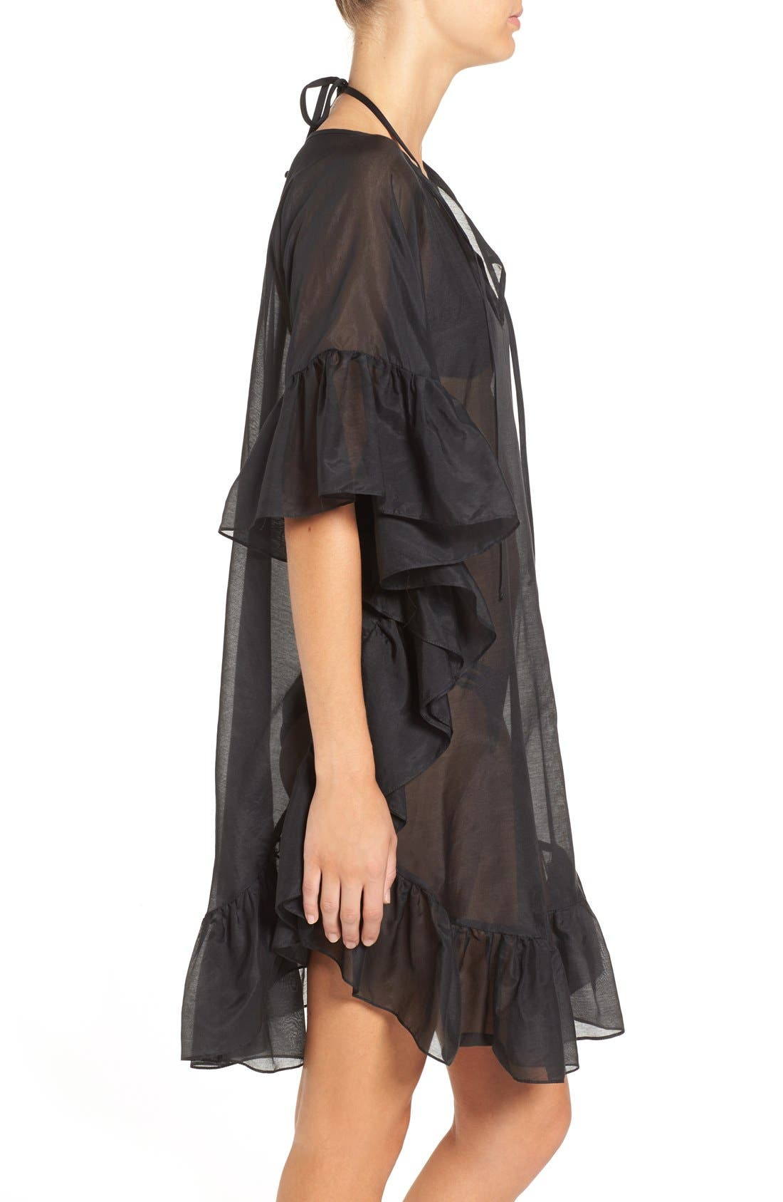 Alternate Image 5  - Soler 'Yasmine' Frill Tie Cover-Up Caftan