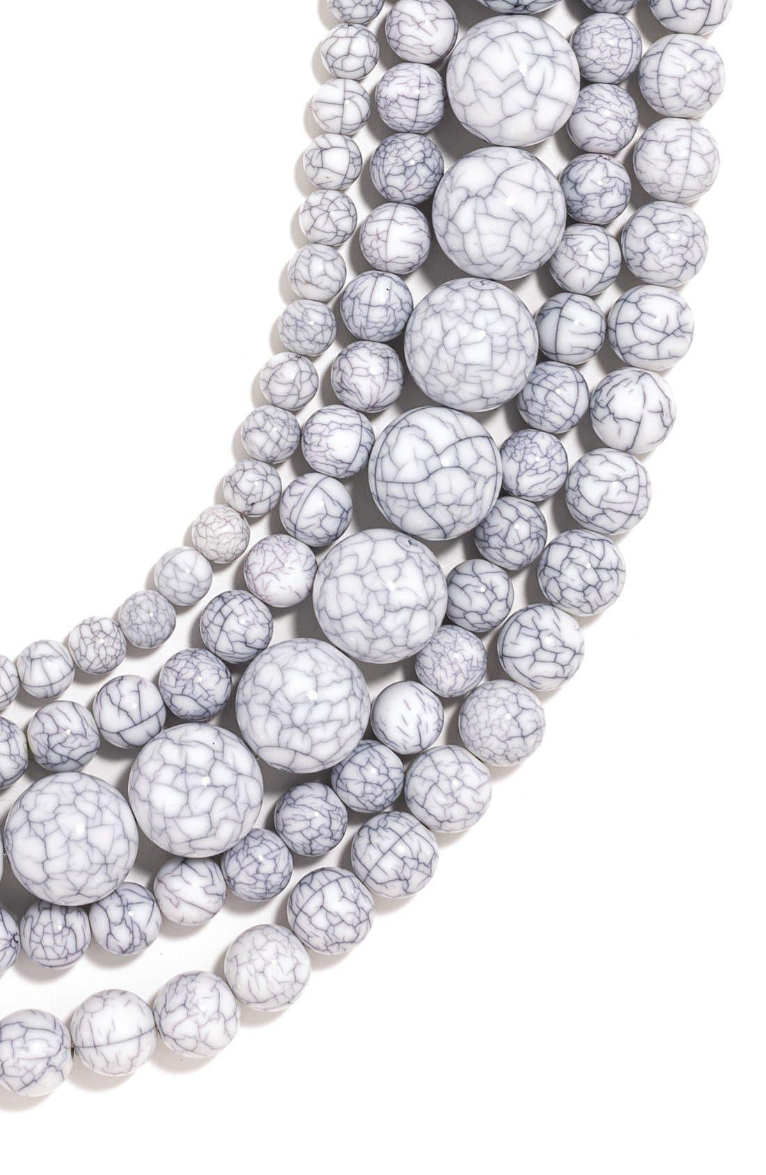 Alternate Image 3  - BaubleBar 'Globe' Multistrand Beaded Necklace