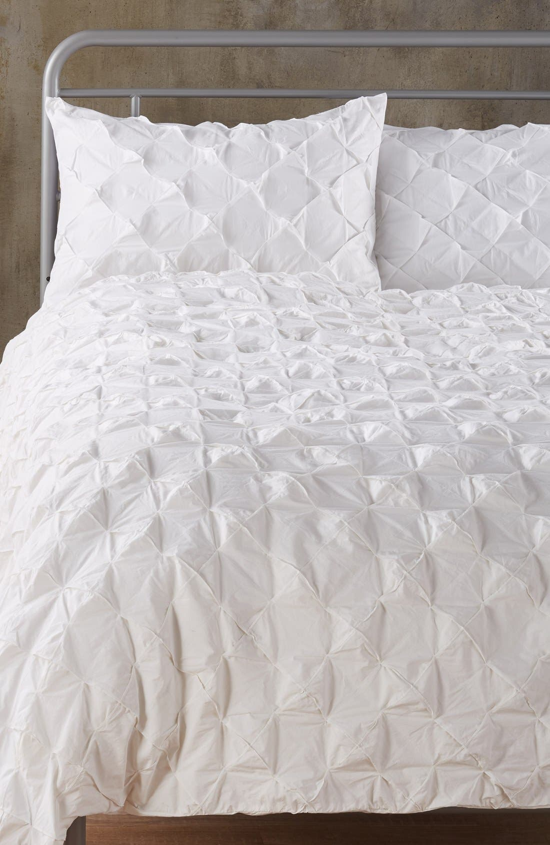 Alternate Image 1 Selected - Nordstrom at Home 'Hobnail' Duvet Cover