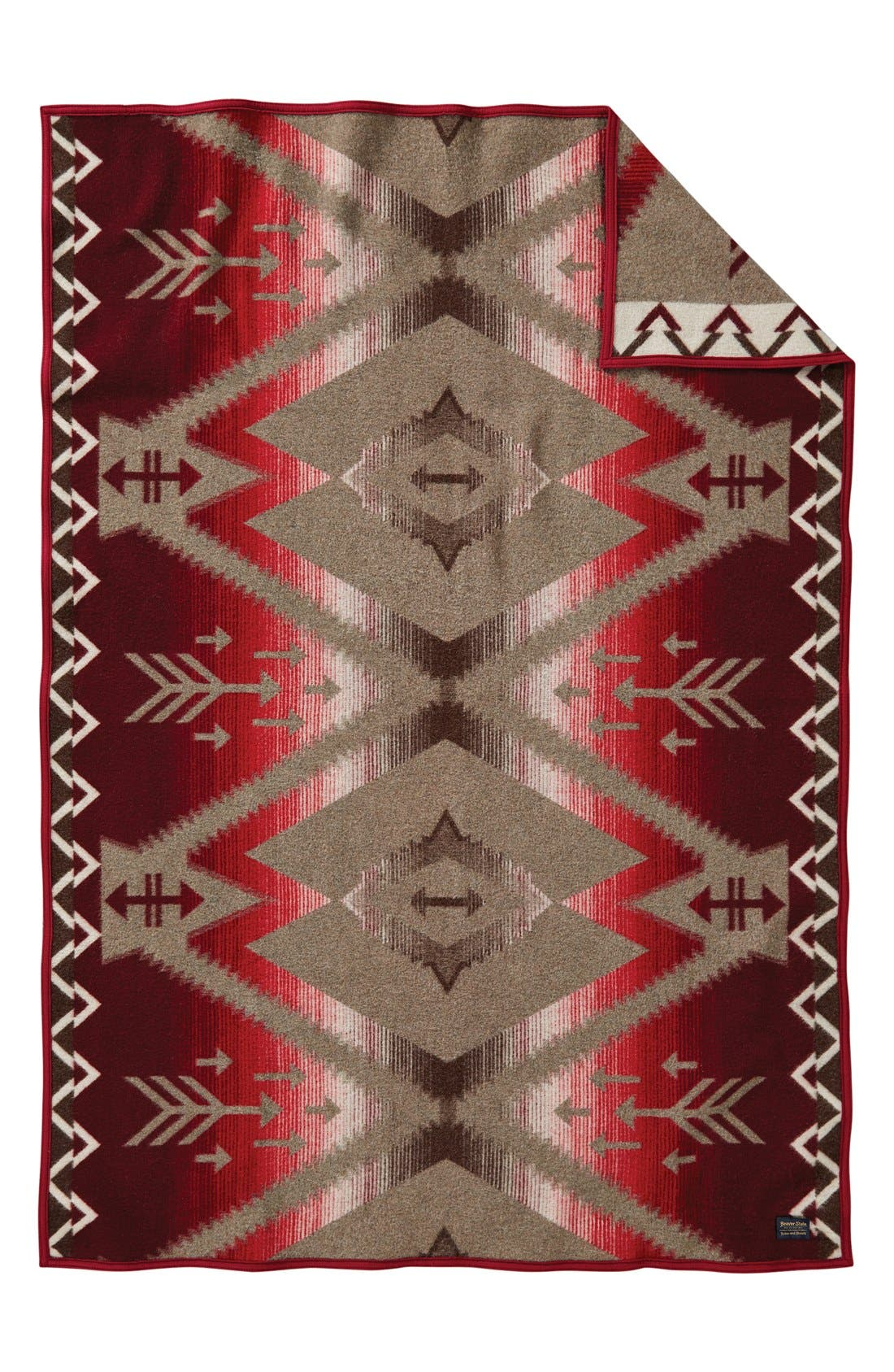 Atsila Jacquard Throw,                             Main thumbnail 1, color,                             Atsila