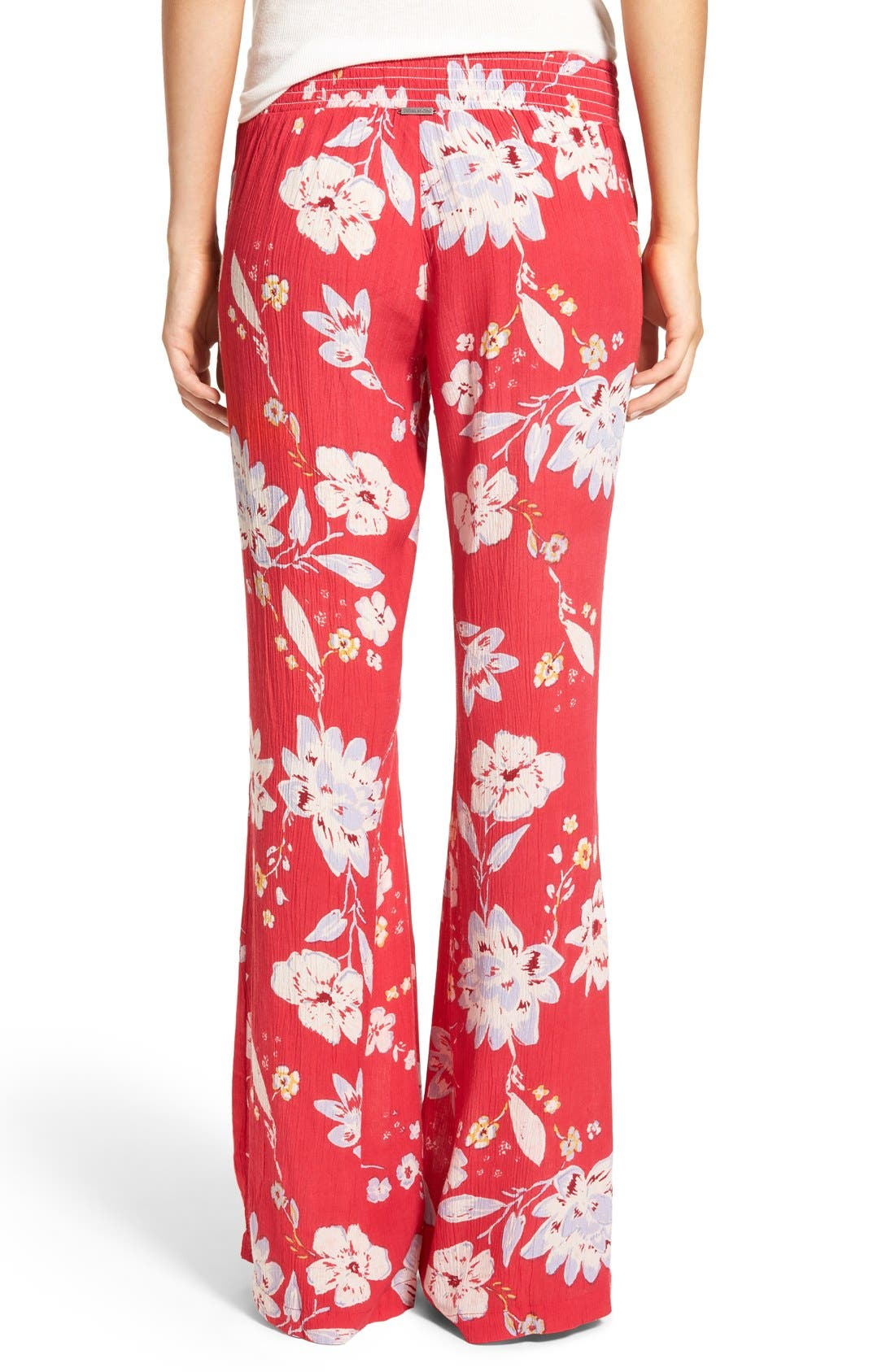 Alternate Image 2  - Billabong 'Under the Moon' Relaxed Fit Wide Leg Pants