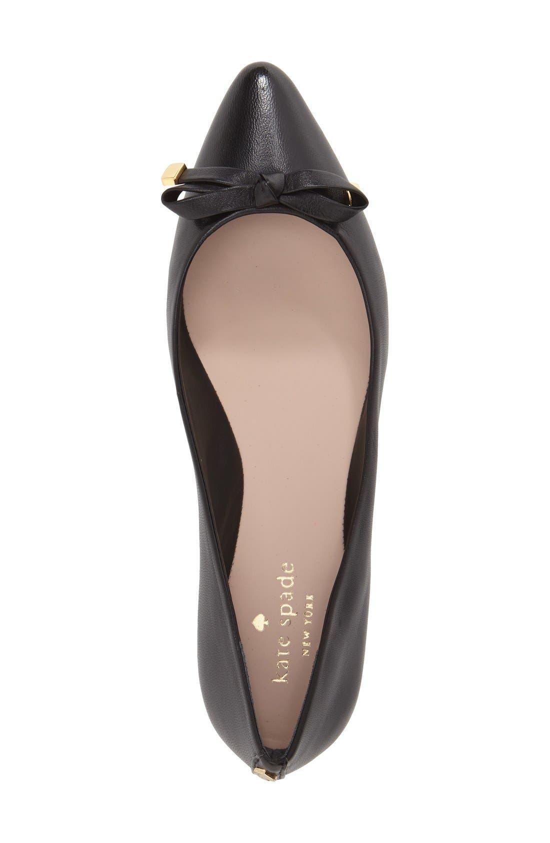 Alternate Image 3  - kate spade new york 'emma' pointy toe flat (Women)