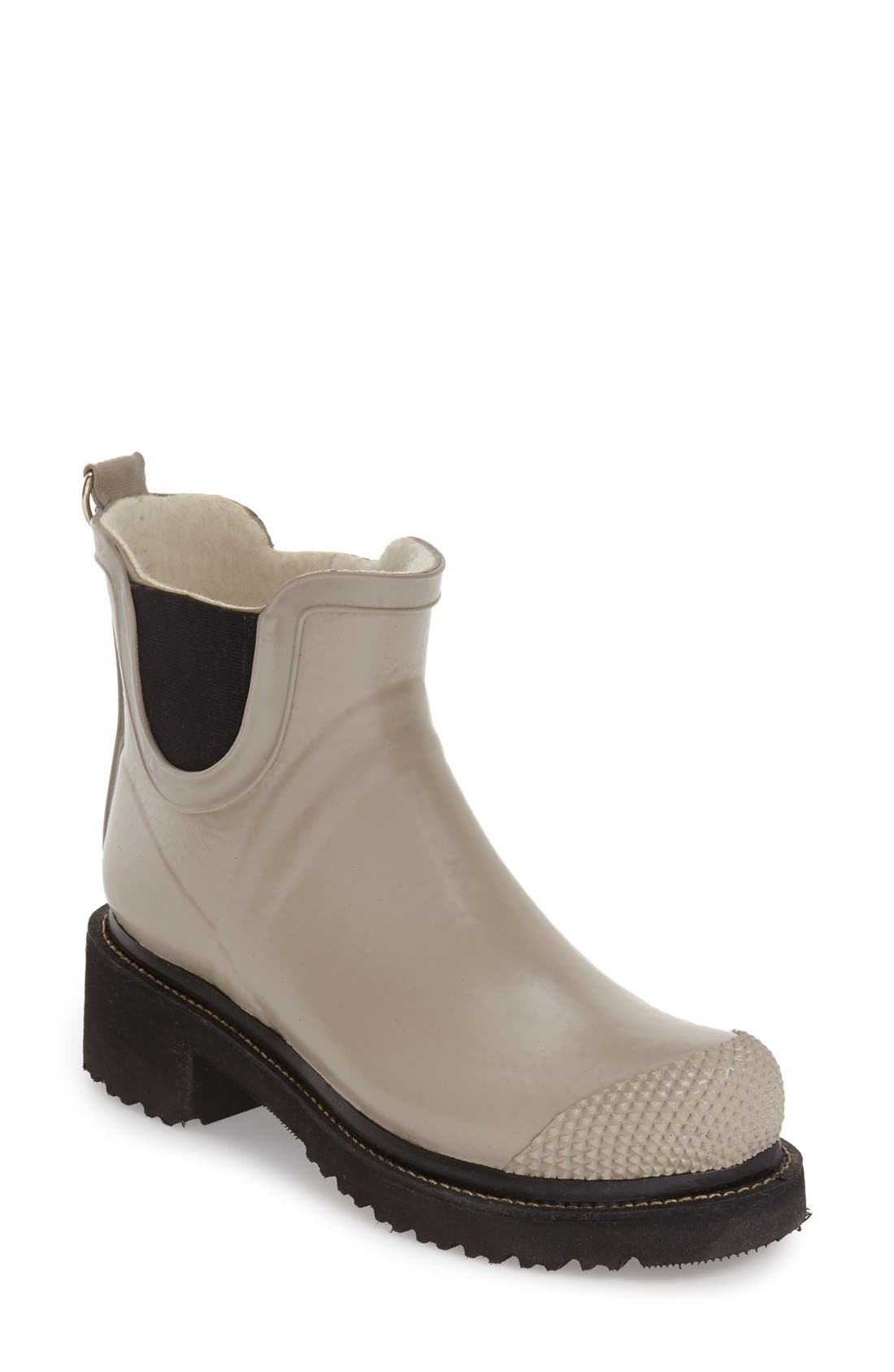 Ilse Jacobsen Hornbaek 'RUB 47' Short Waterproof Rain Boot (Women)