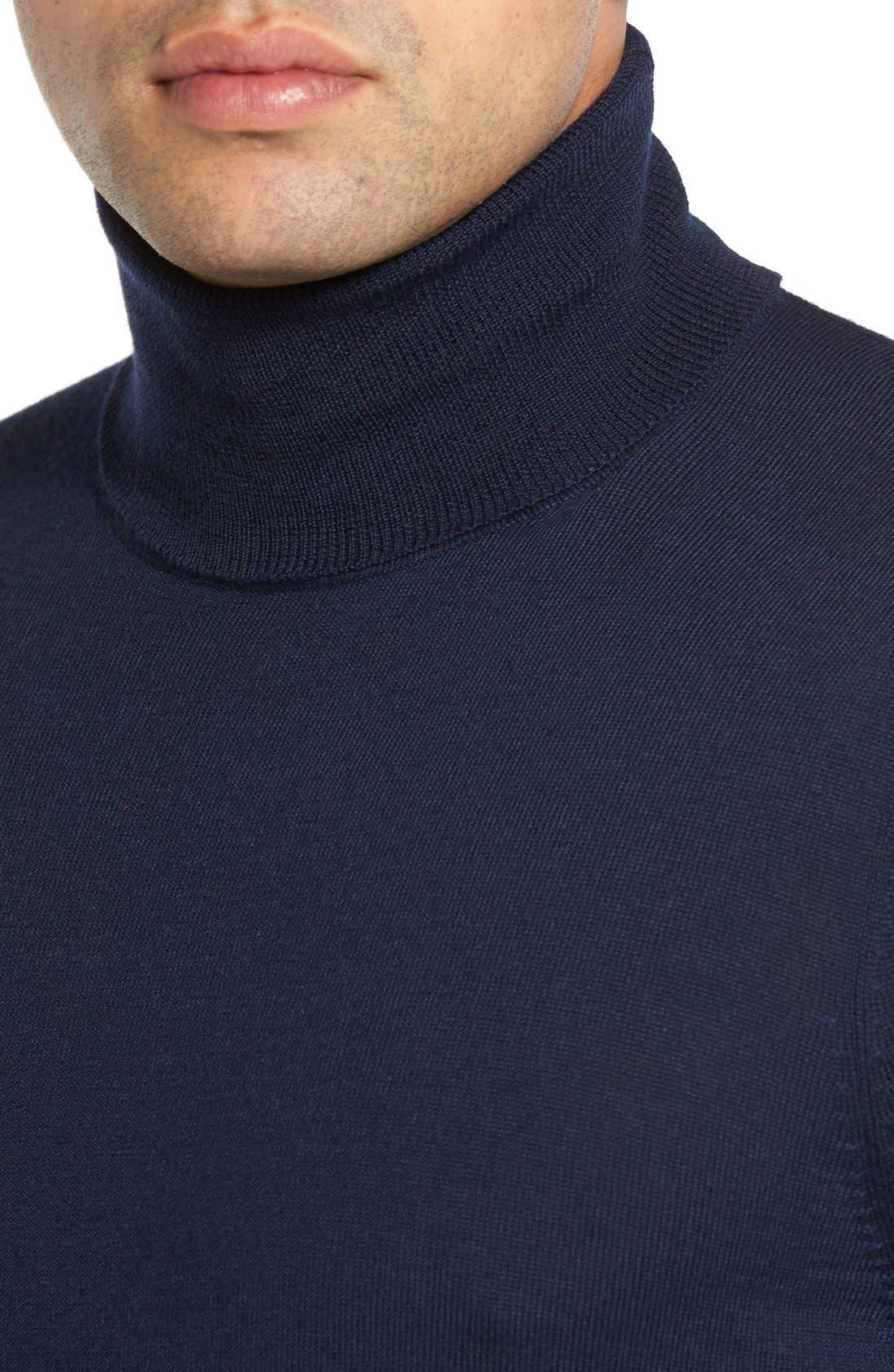 Alternate Image 4  - John W. Nordstrom® Wool Turtleneck Sweater