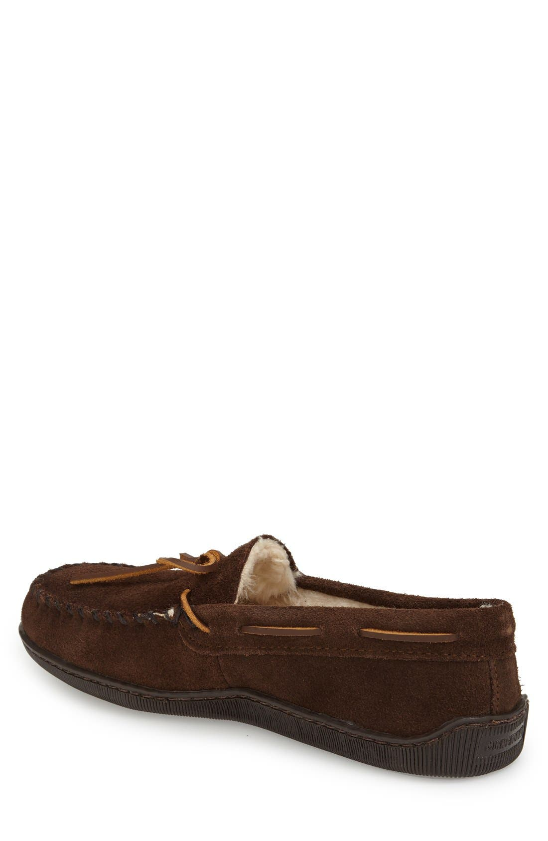 Moccasin,                             Alternate thumbnail 2, color,                             Chocolate