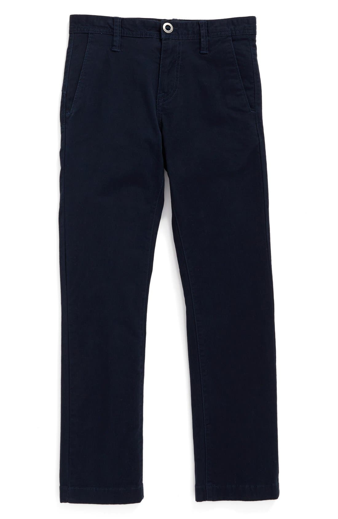 Volcom Slim Fit Stretch Chinos (Toddler Boys, Little Boys & Big Boys)