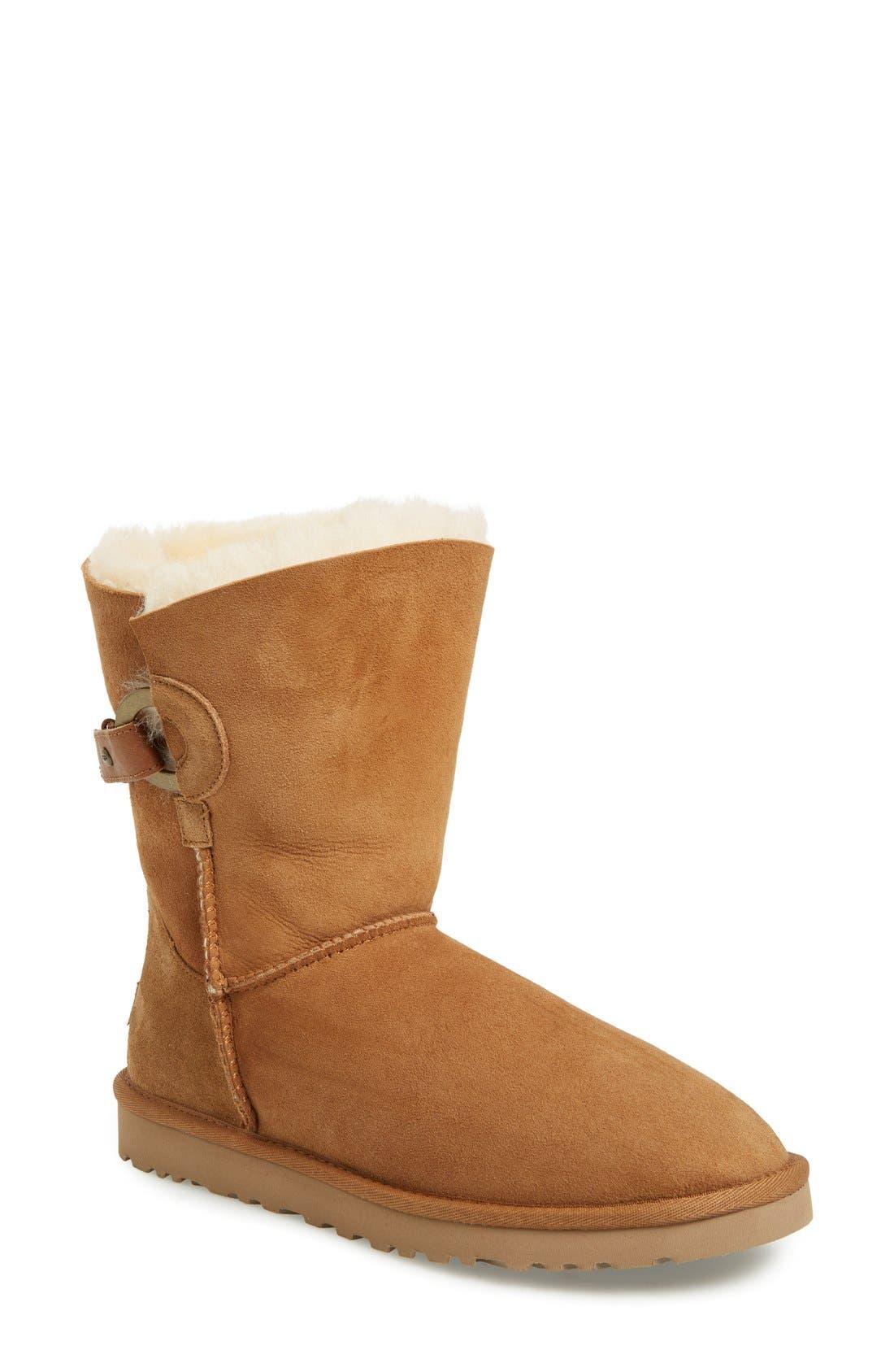 Alternate Image 1 Selected - UGG® Nash Genuine Shearling Boot (Women)