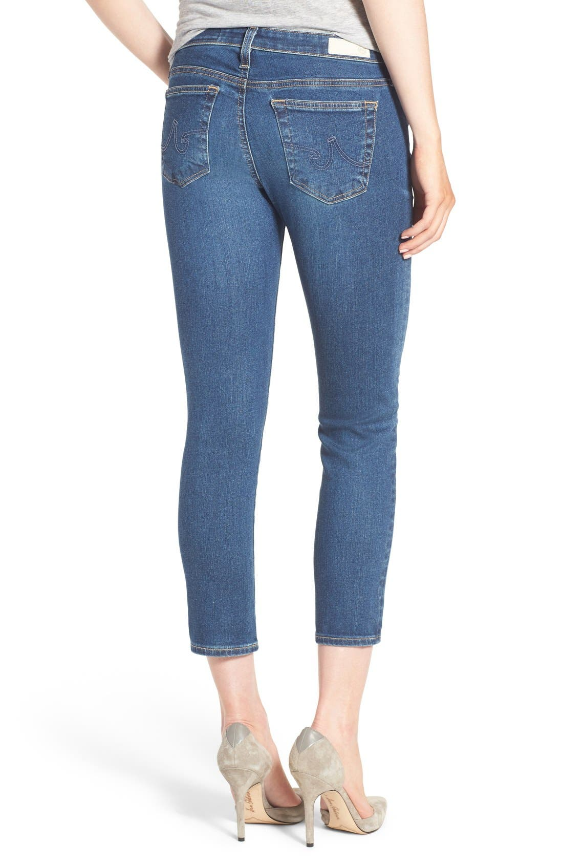 Alternate Image 2  - AG Jeans 'The Stilt' Crop Skinny Stretch Jeans