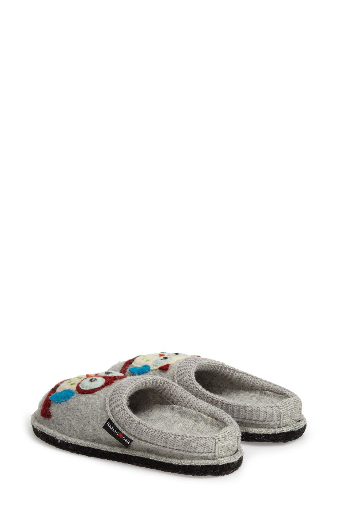 Alternate Image 2  - Haflinger 'Olivia' Owl Slipper (Women)