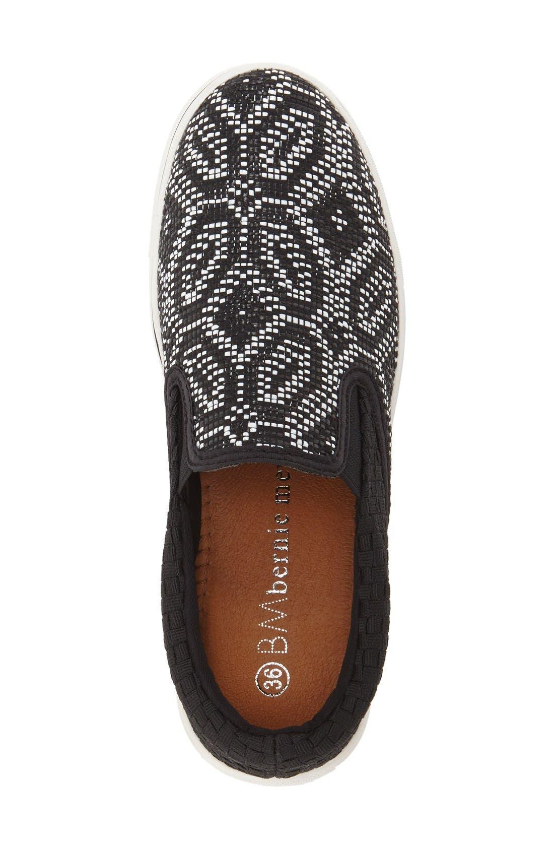 Alternate Image 3  - bernie mev. 'Blair' Slip-On Sneaker (Women)