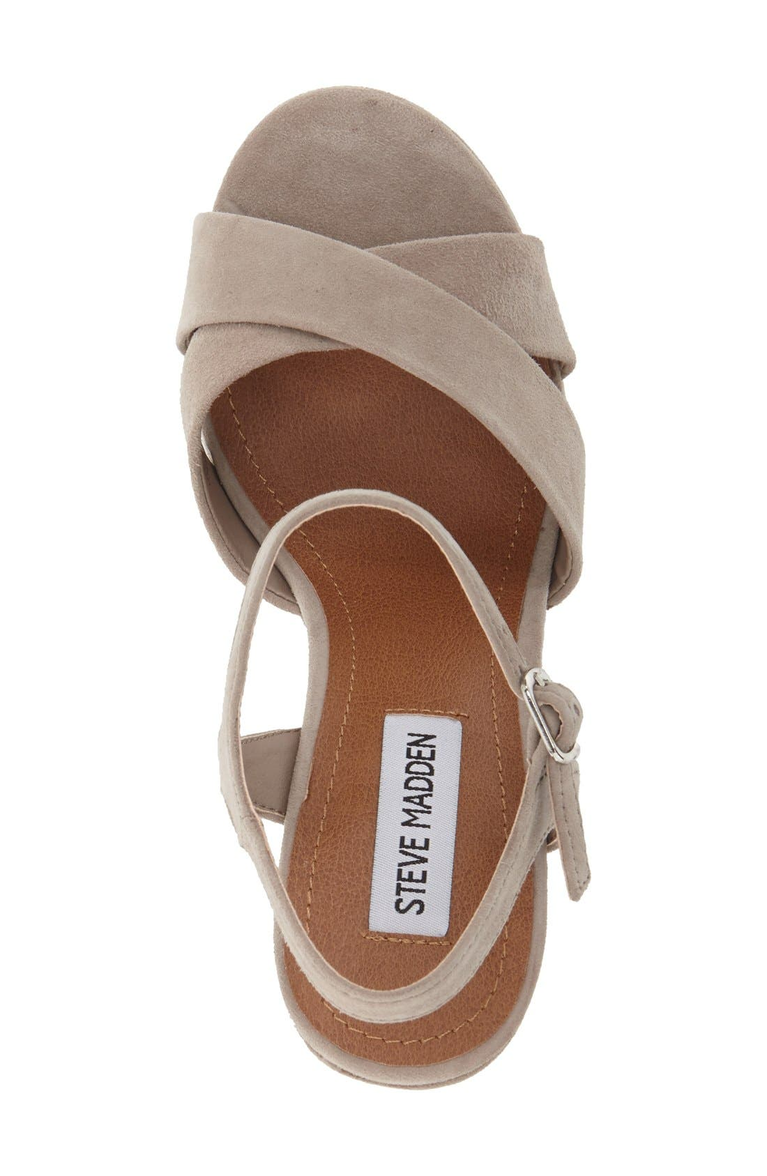 Alternate Image 3  - Steve Madden 'Casper' Platform Wedge Sandal (Women)