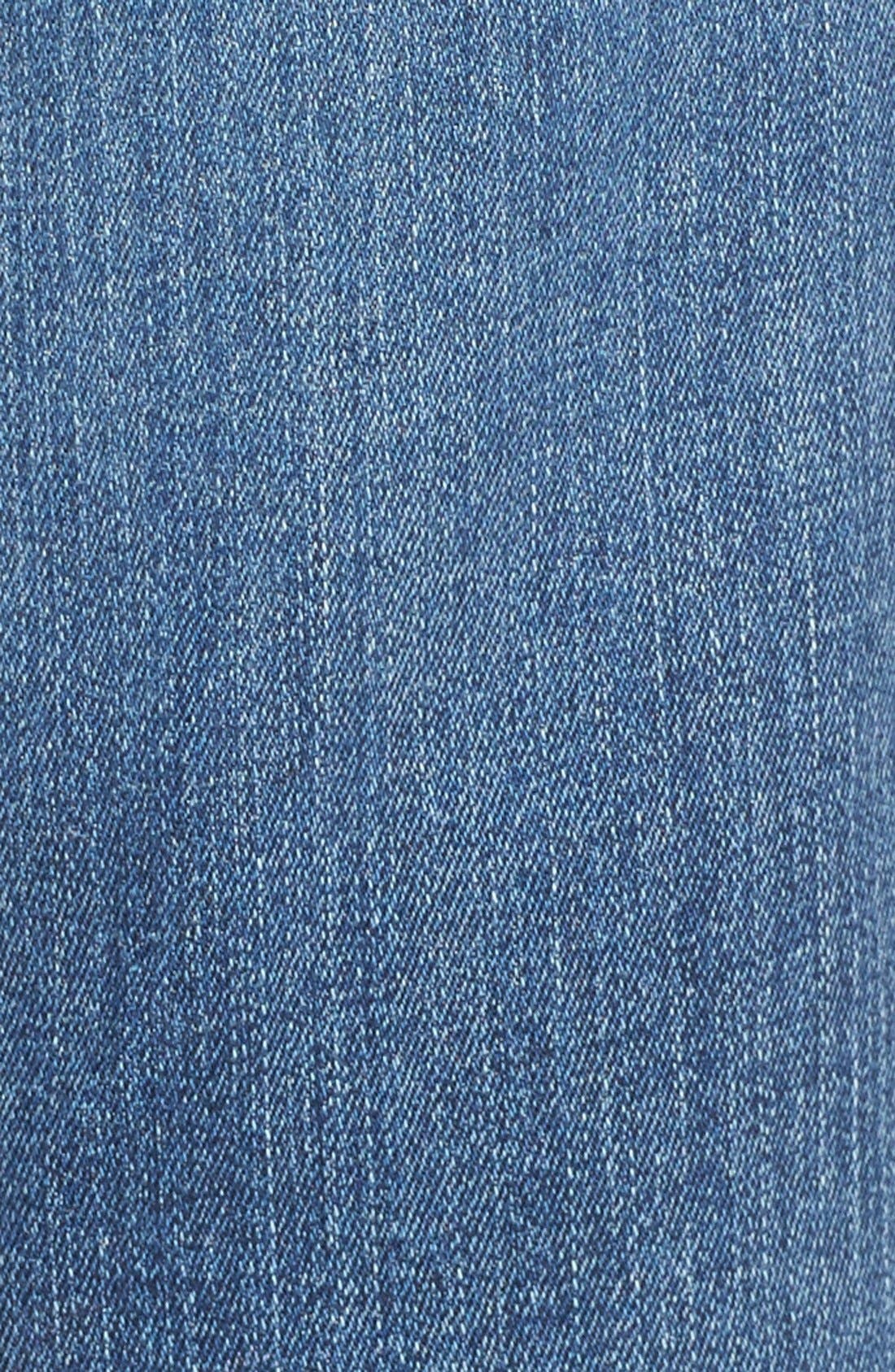 Marilyn Stretch Straight Leg Jeans,                             Alternate thumbnail 5, color,                             Heyburn