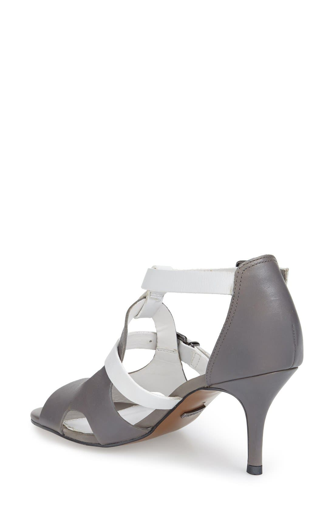 Alternate Image 2  - Topshop 'Needle' Cutout Buckle Sandal (Women)