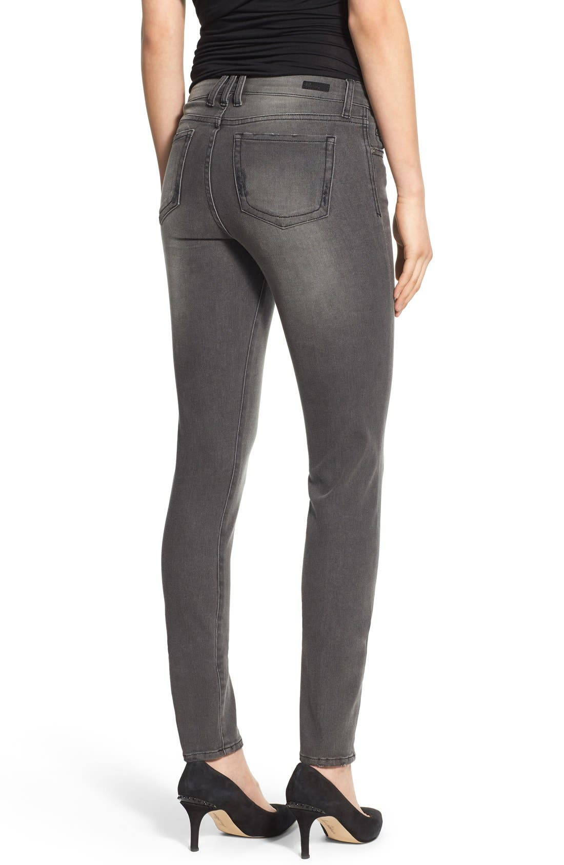 Alternate Image 2  - KUT from the Kloth 'Diana' Stretch Skinny Jeans (Continuity) (Regular & Petite)