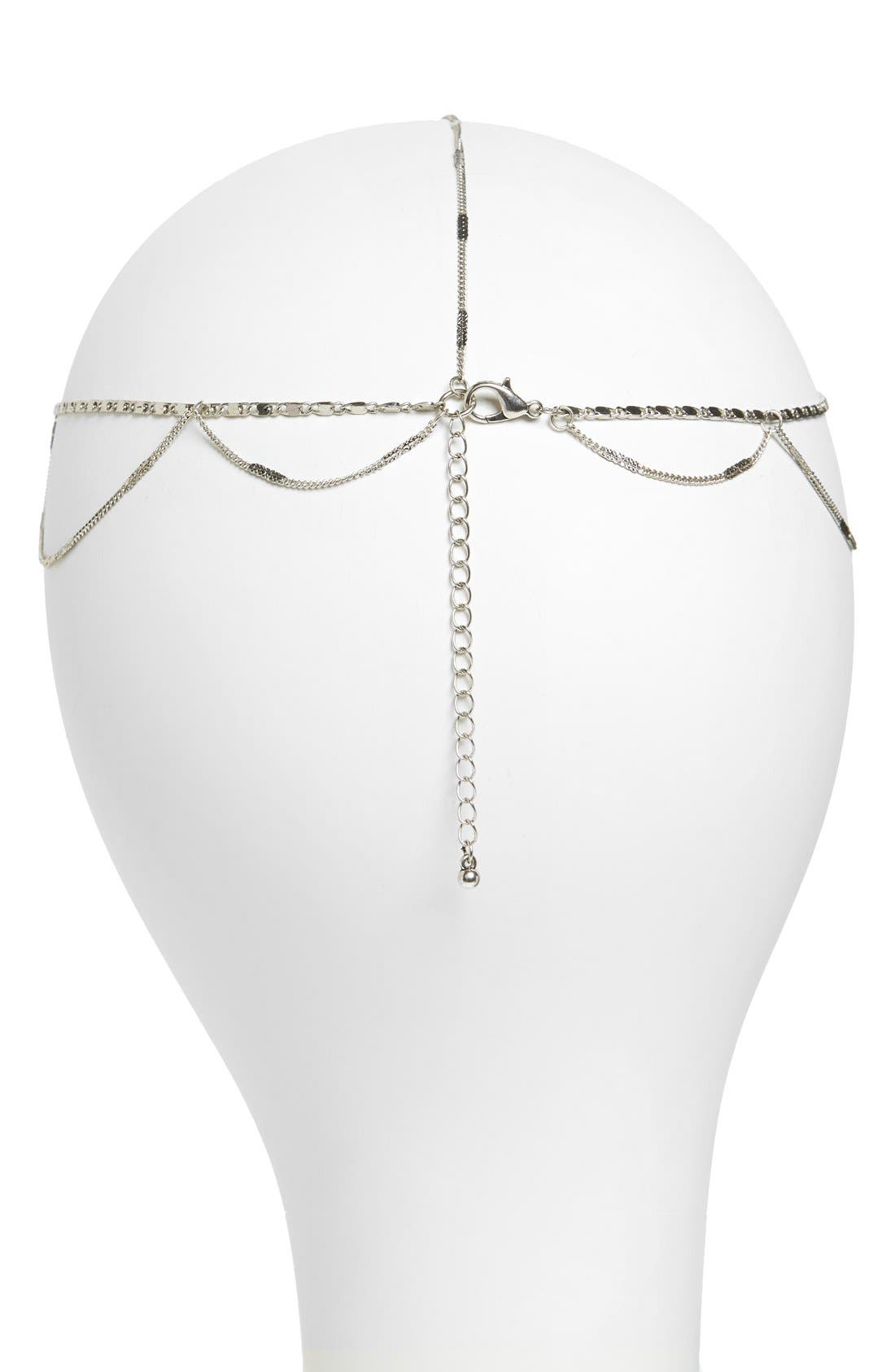 Alternate Image 2  - Berry 'Goddess' Head Chain
