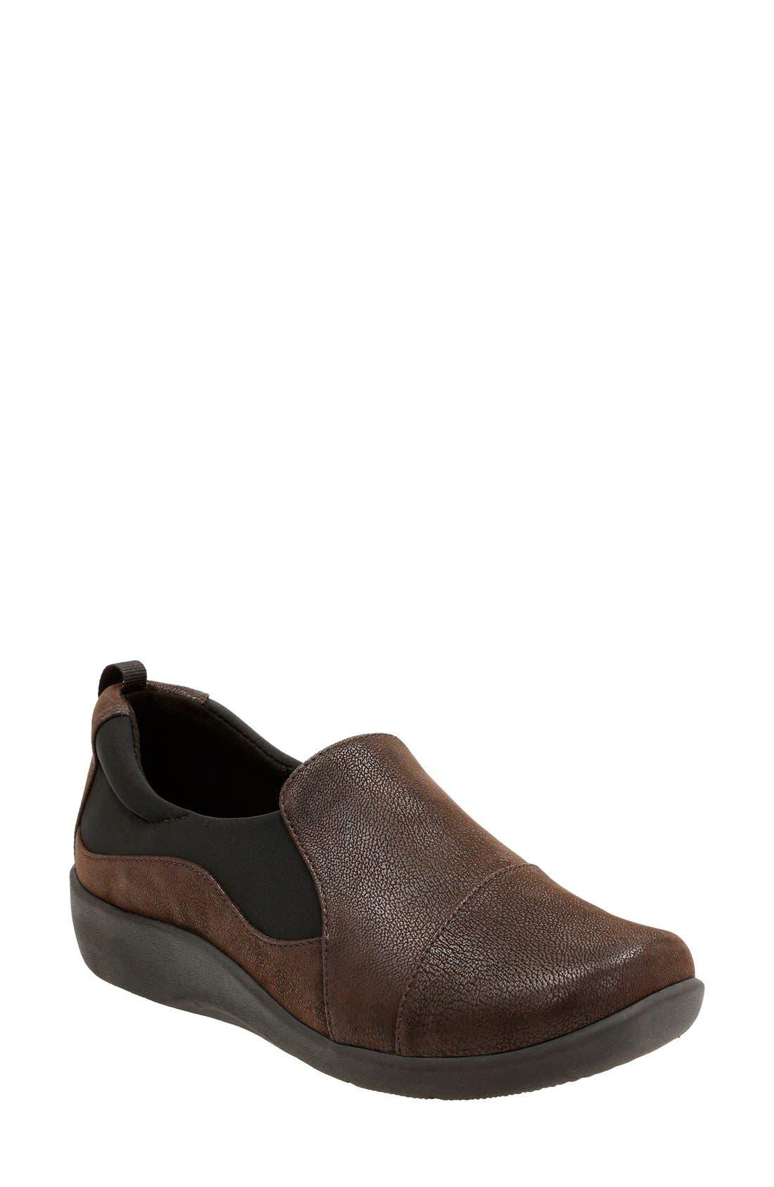 Clarks® 'Sillian Paz' Slip-On Sneaker (Women)