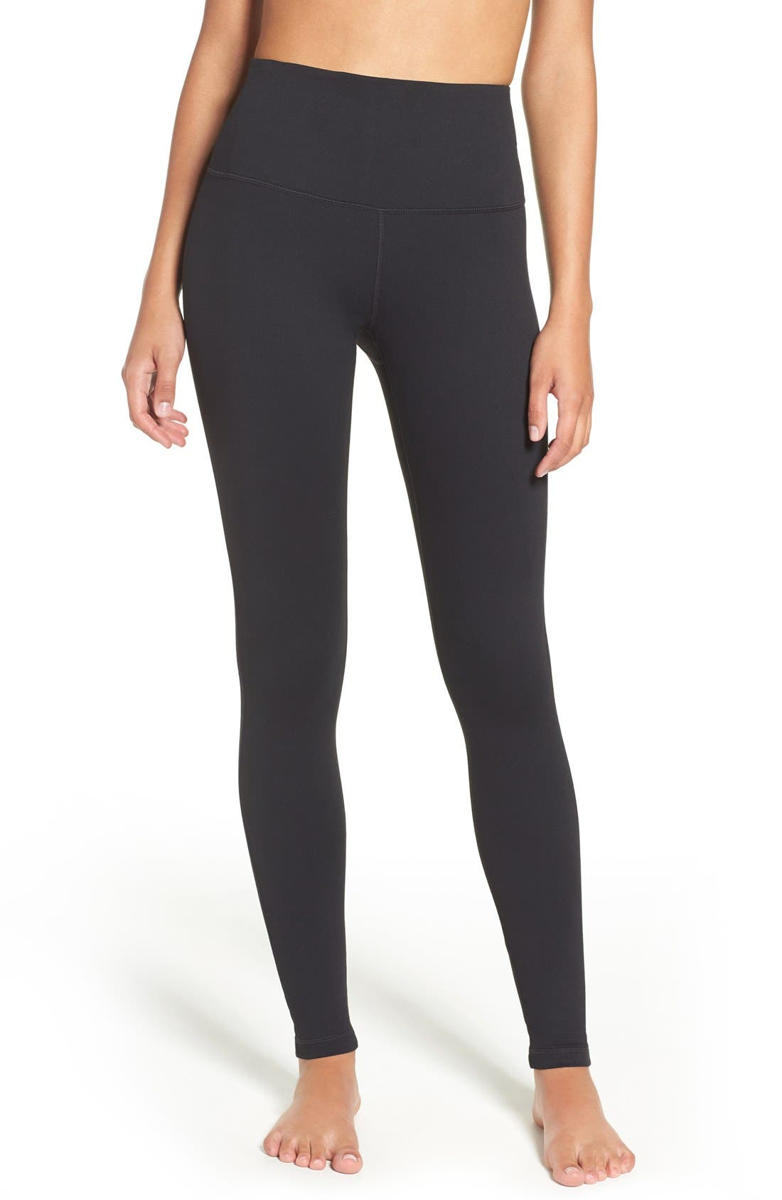 Live In High Waist Leggings,                         Main,                         color, Black