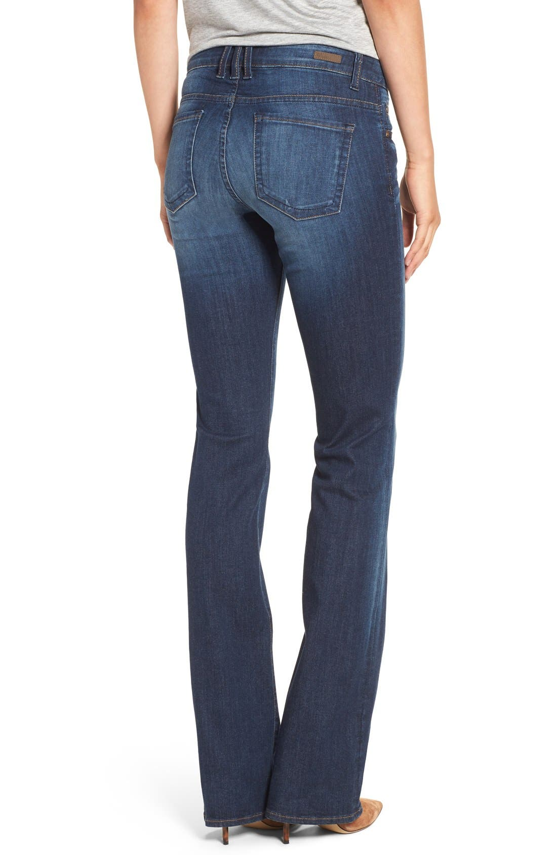 Alternate Image 2  - KUT from the Kloth 'Natalie' Stretch Bootcut Jeans (Adaptive) (Regular & Petite)