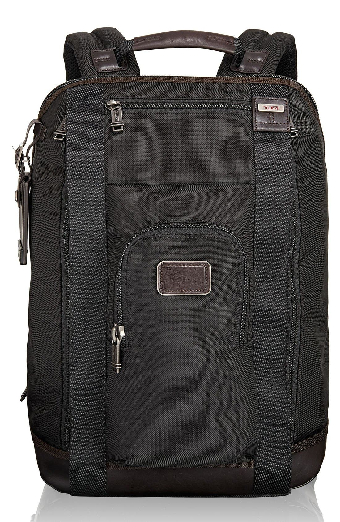 'Alpha Bravo - Edwards' Backpack,                             Main thumbnail 1, color,                             Hickory