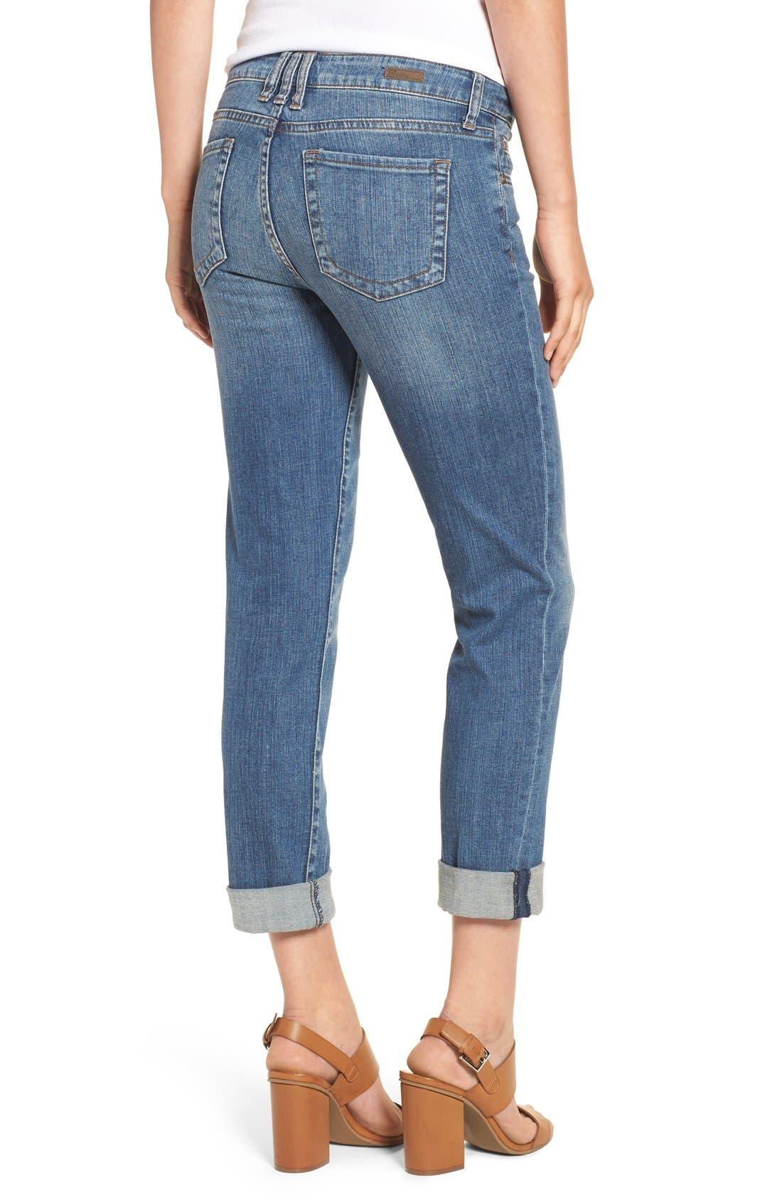 Alternate Image 3  - KUT from the Kloth 'Catherine' Slim Boyfriend Jeans (Fervent) (Regular & Petite)