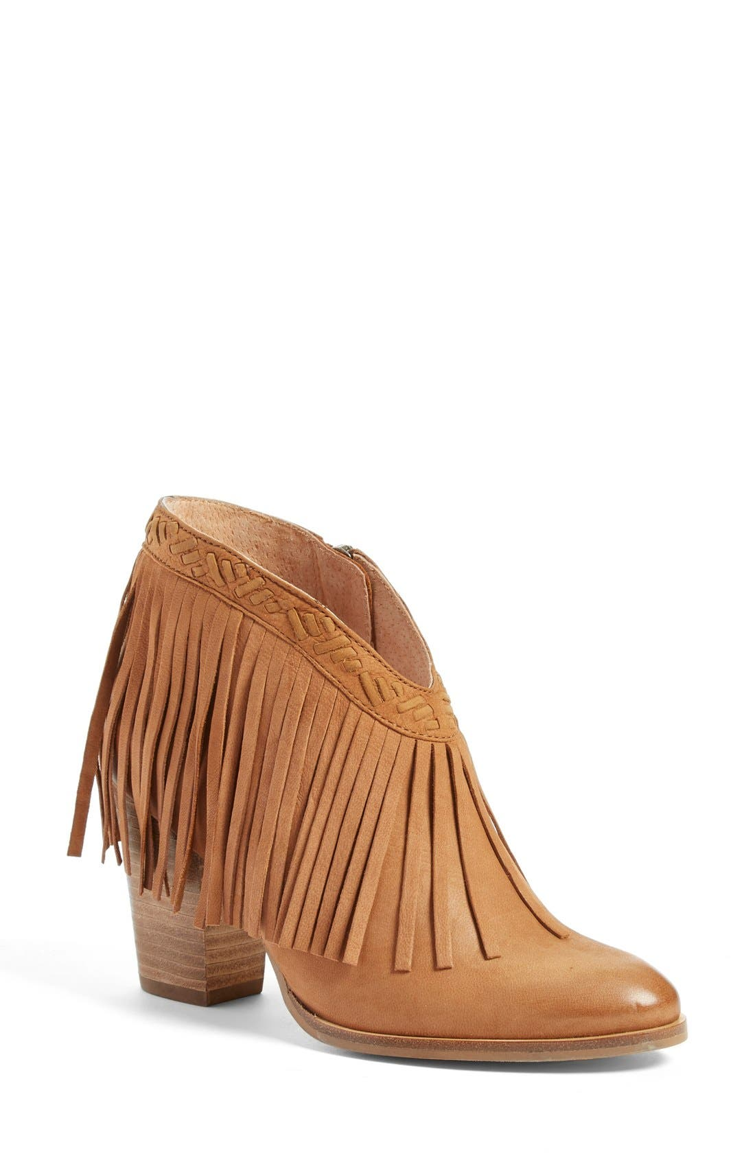 Alternate Image 1 Selected - Seychelles 'World Tour' Fringe Bootie (Women)