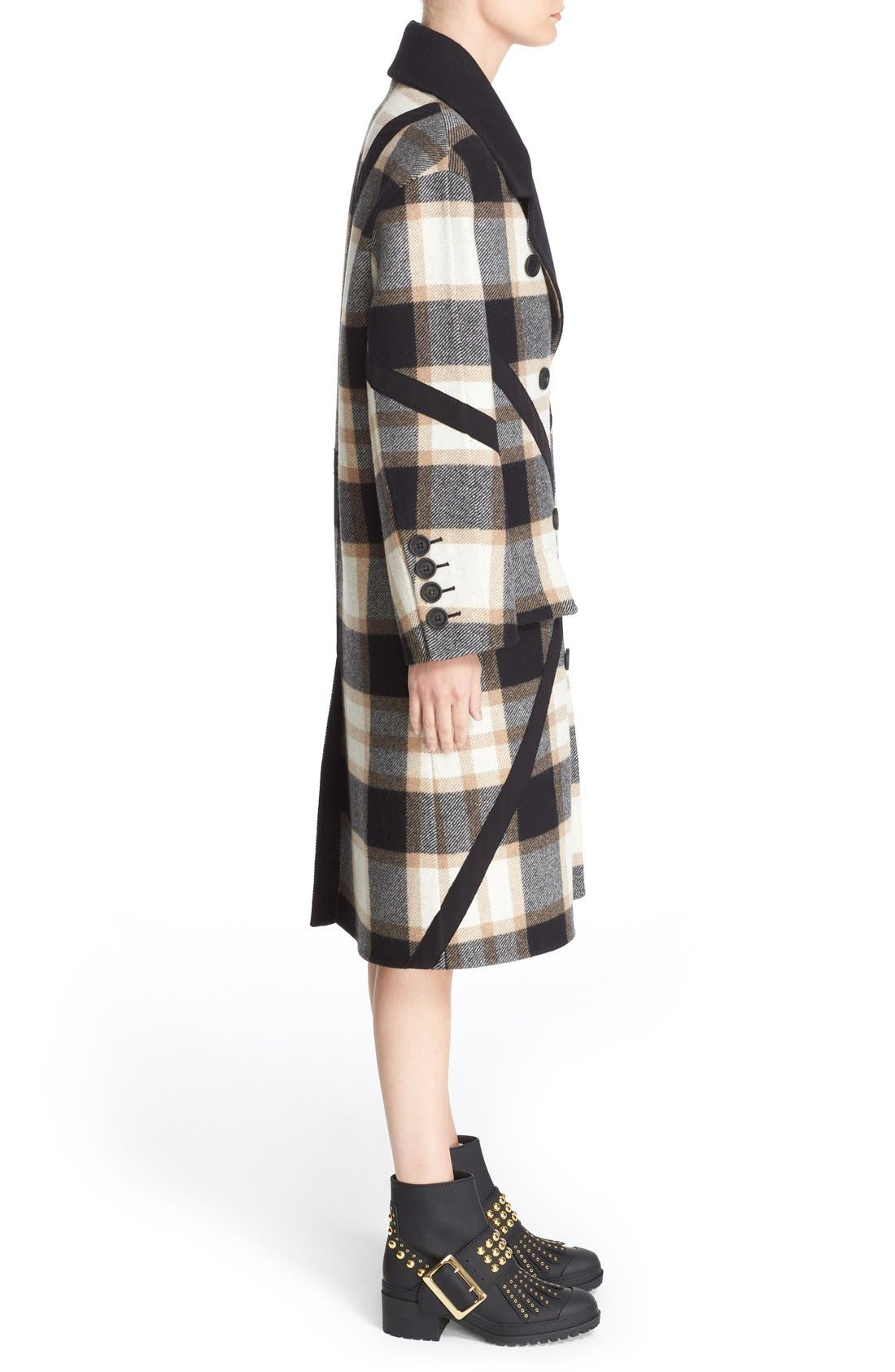 Alternate Image 5  - Burberry Tartan Plaid Wool Coat