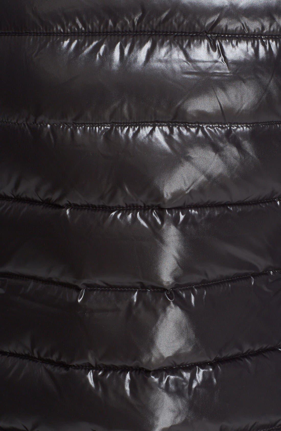 Alternate Image 3  - Moncler Ghany Water Resistant Shiny Nylon Down Puffer Vest