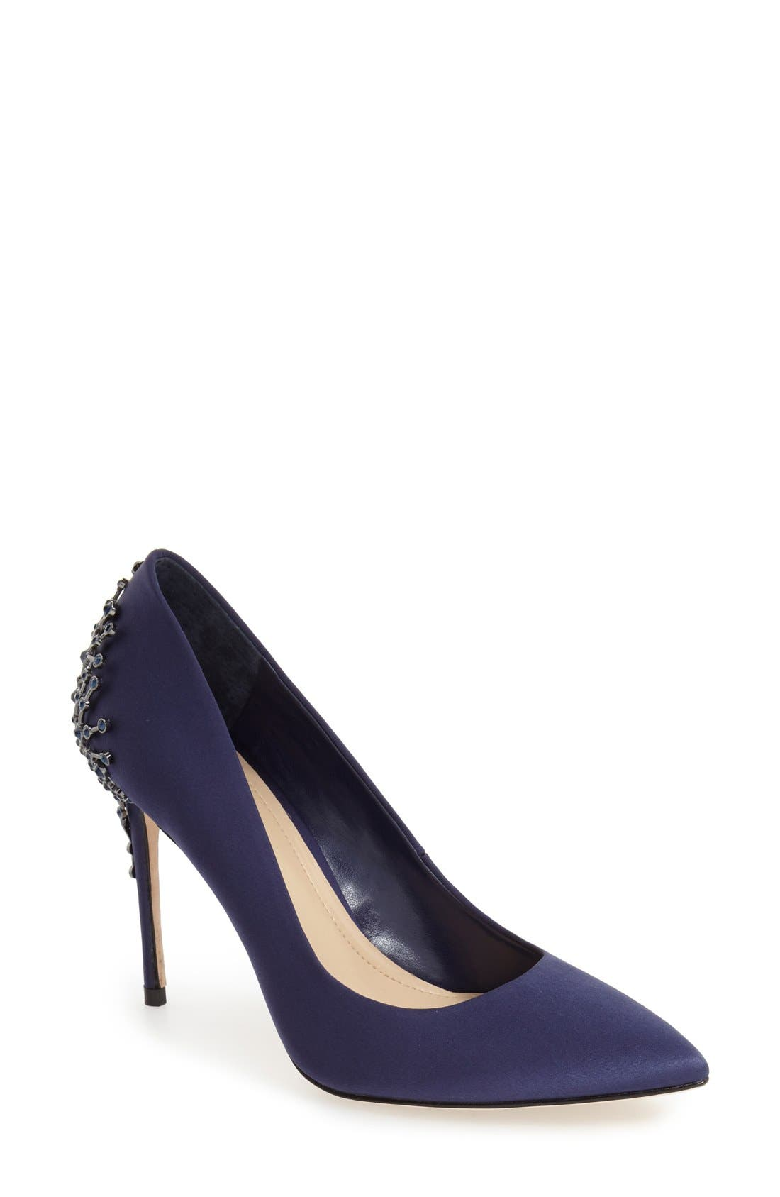 Imagine by Vince Camuto Crystal Embellished Pump (Women)