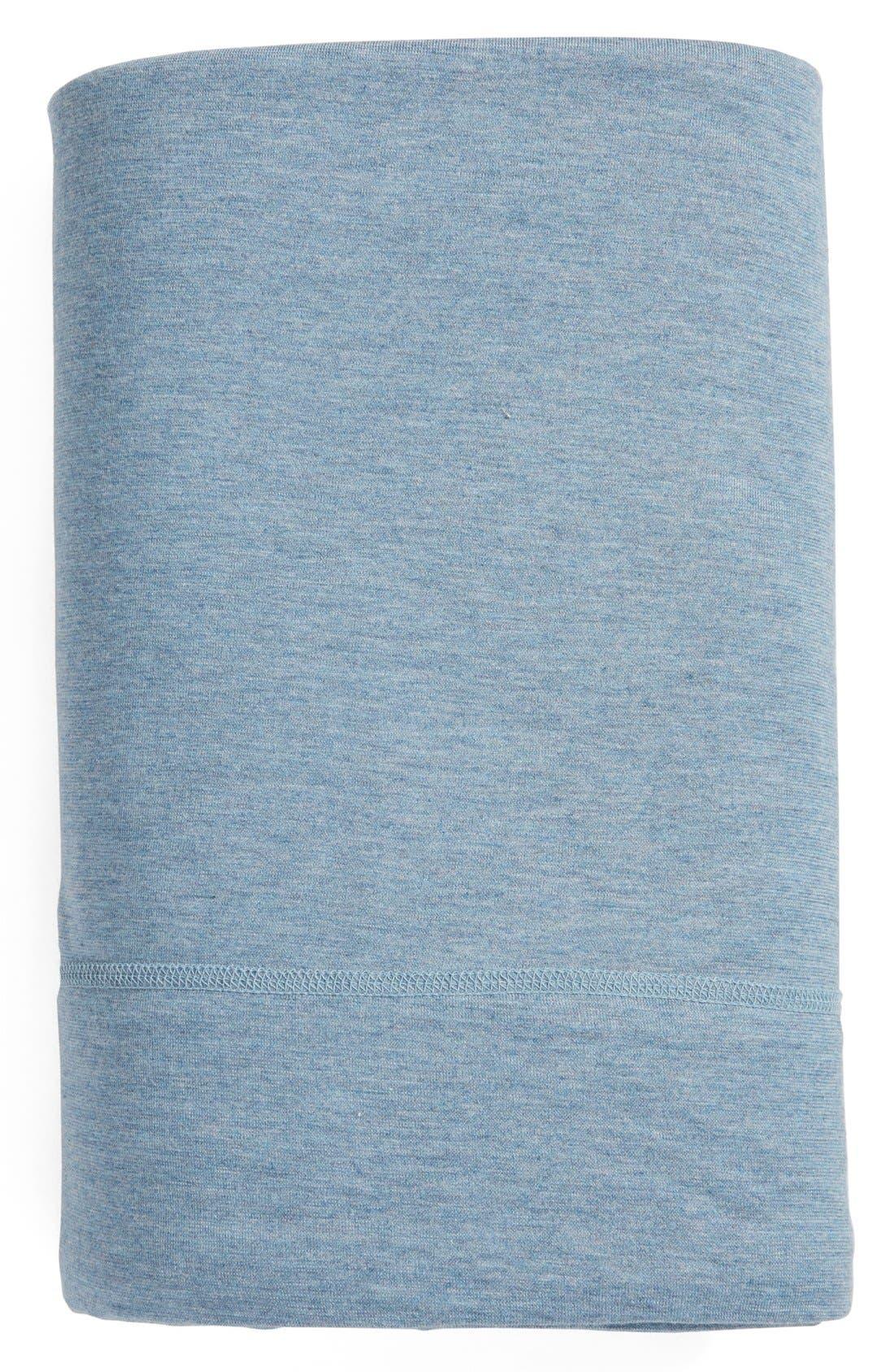 Alternate Image 1 Selected - Calvin Klein Modern Cotton Collection Cotton & Modal Flat Sheet