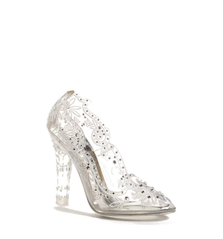 Main Image - Dolce&Gabbana 'Glass Slipper' Pump (Women)