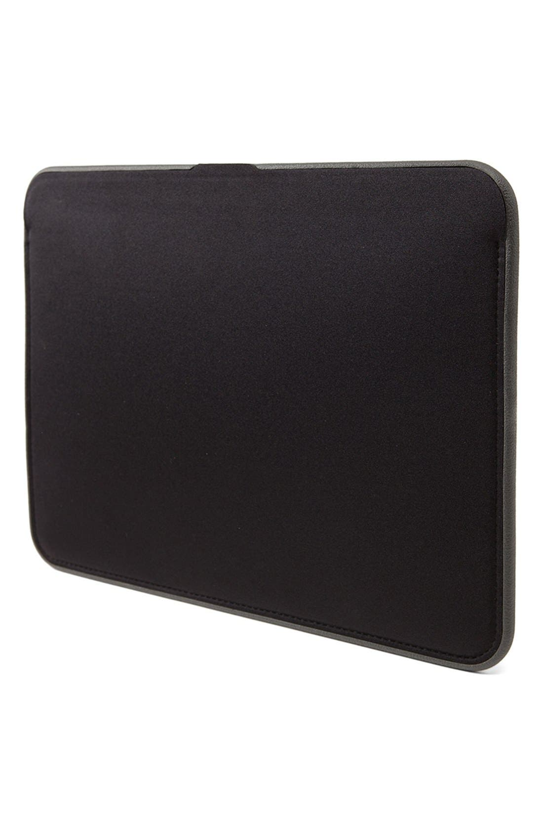 Icon 13-Inch MacBook Air Laptop Sleeve,                             Alternate thumbnail 3, color,                             Black