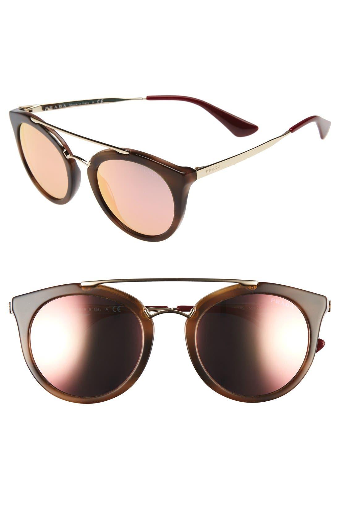 brow-bar sunglasses
