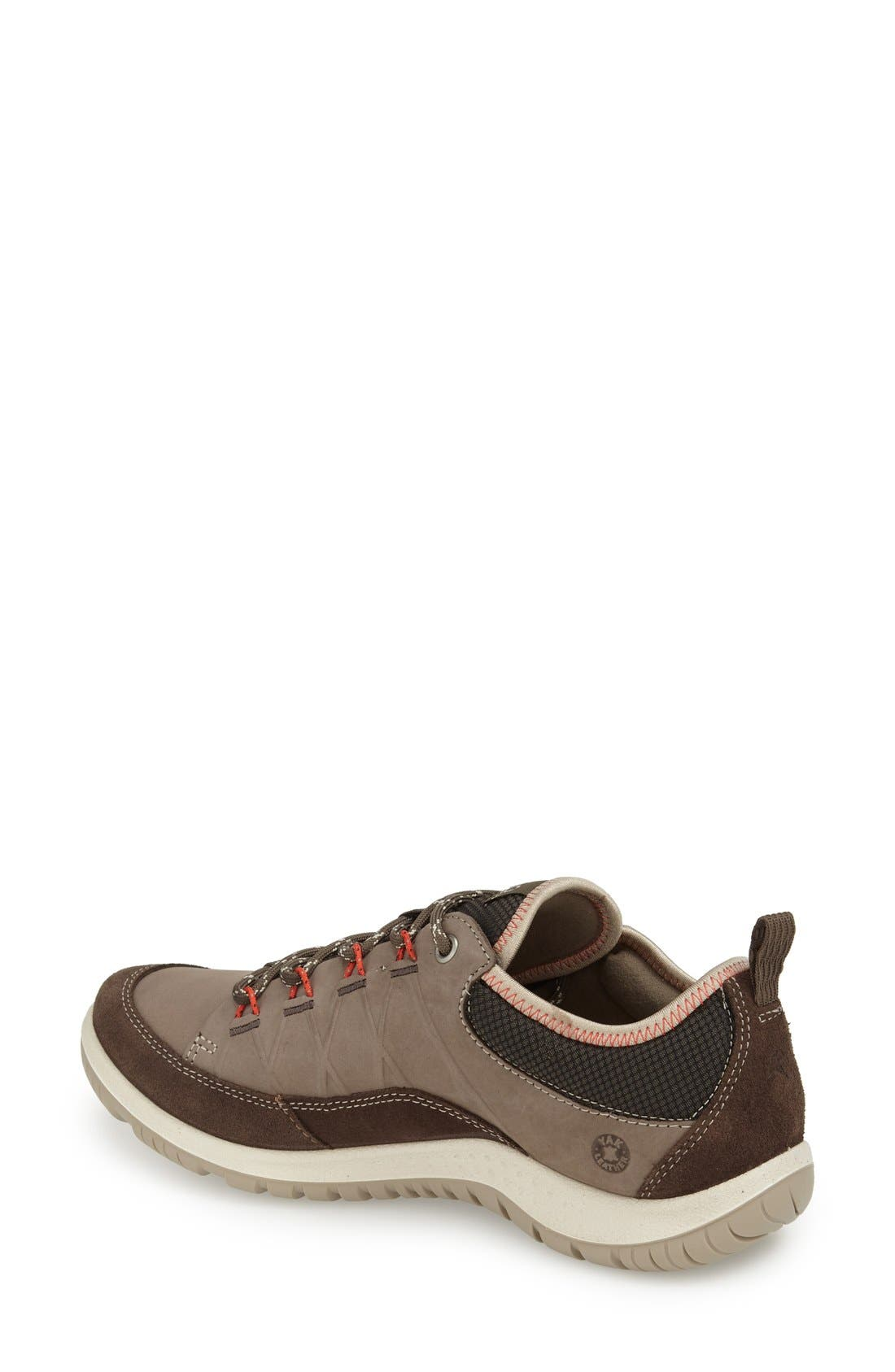 'Aspina' Sneaker,                             Alternate thumbnail 2, color,                             Dark Clay Oiled Suede