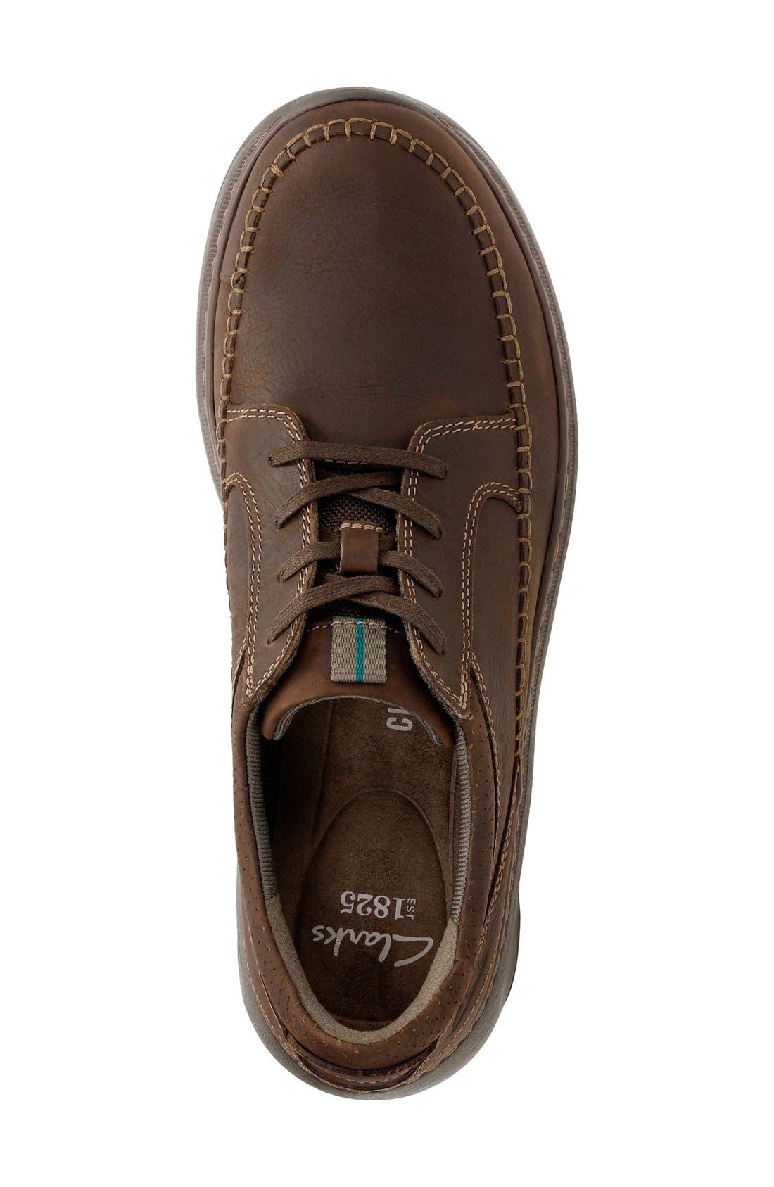 'Charton Vibe' Moc Toe Derby,                             Alternate thumbnail 3, color,                             Dark Brown