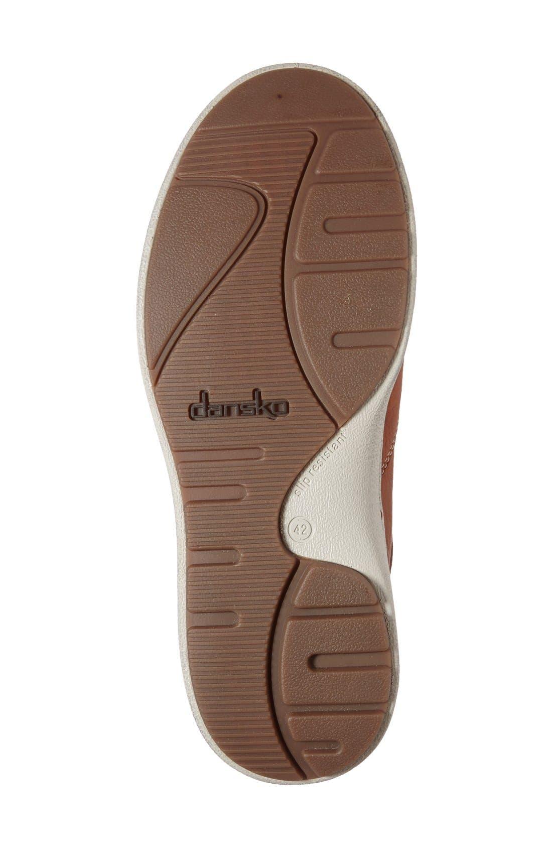 Alternate Image 4  - Dansko 'Viktor' Water Resistant Slip-On Sneaker (Men)