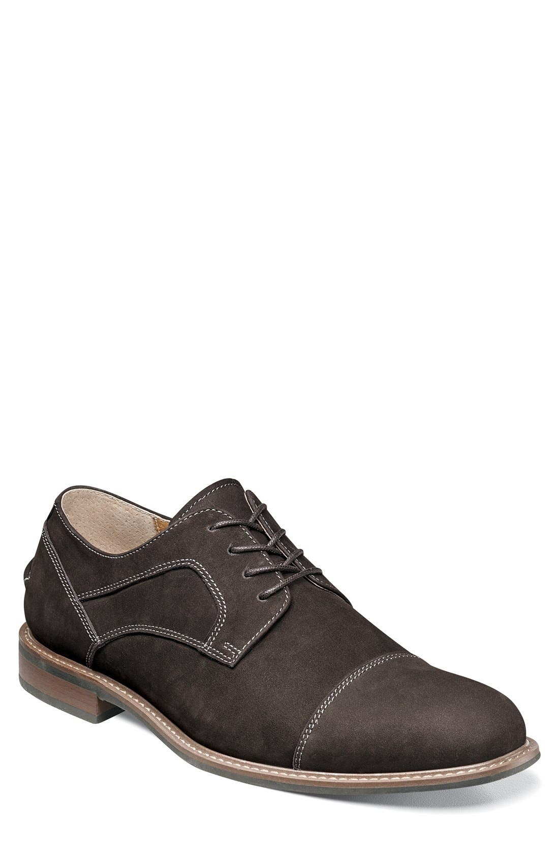 FLORSHEIM Frisco Cap Toe Derby