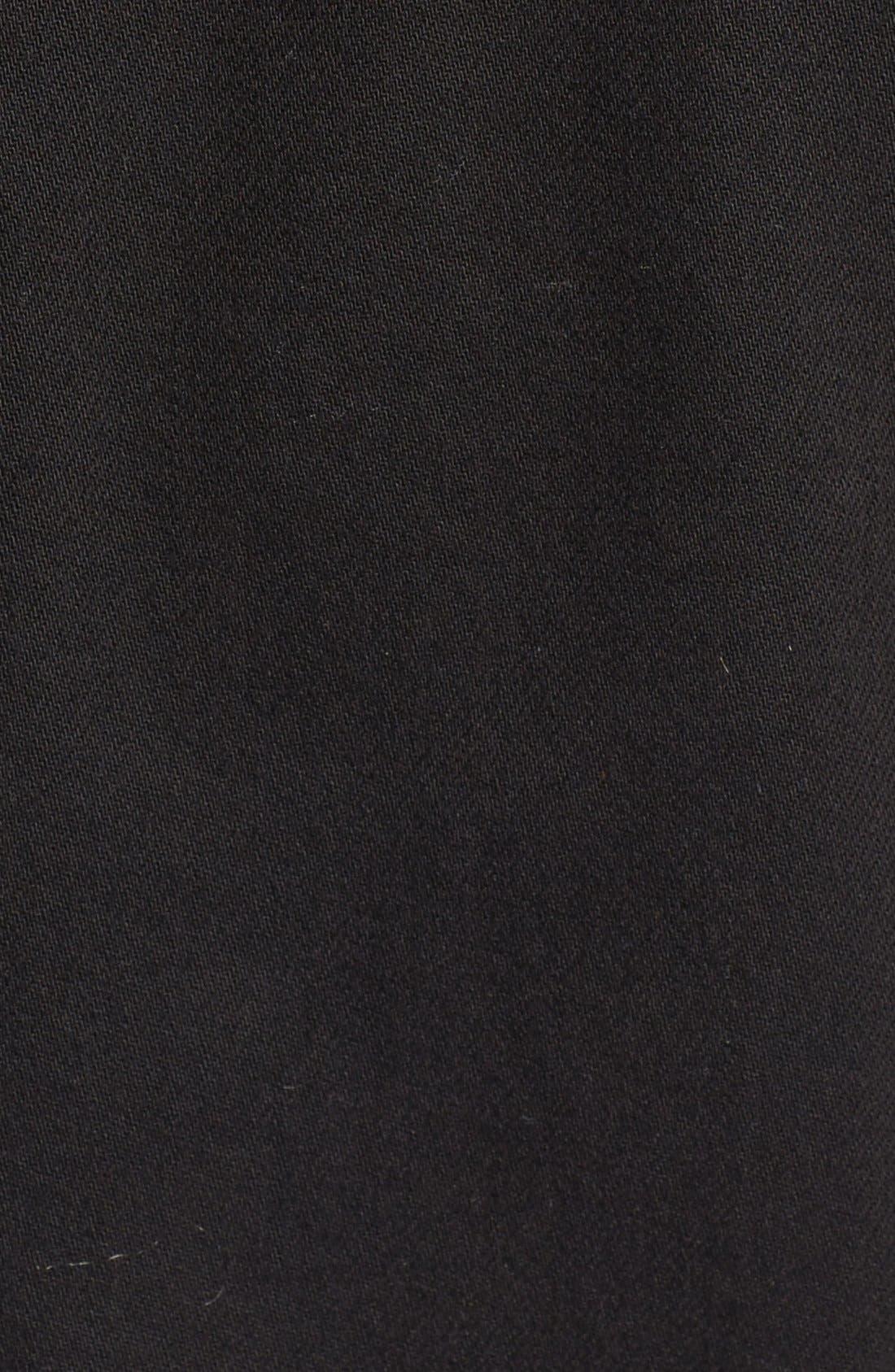 'Vivienne' Denim Jacket,                             Alternate thumbnail 5, color,                             Black Hawk