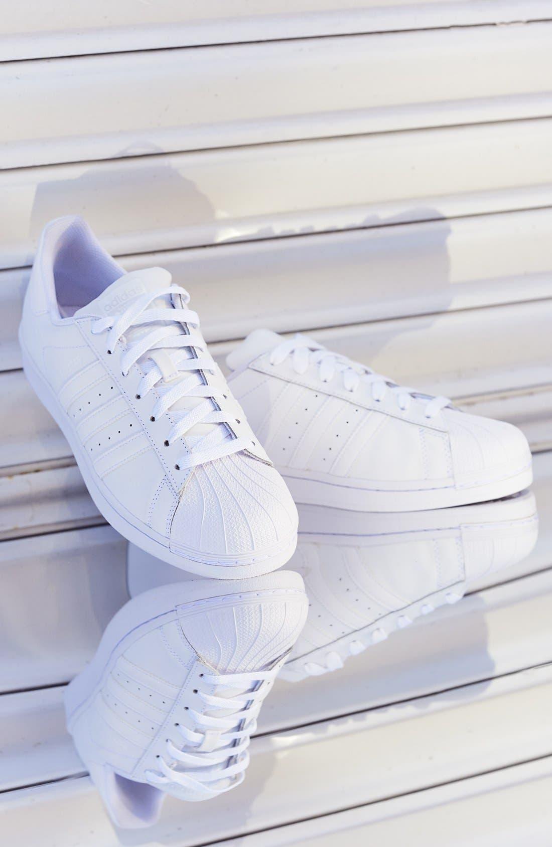 Alternate Image 6  - adidas Superstar Foundation Sneaker
