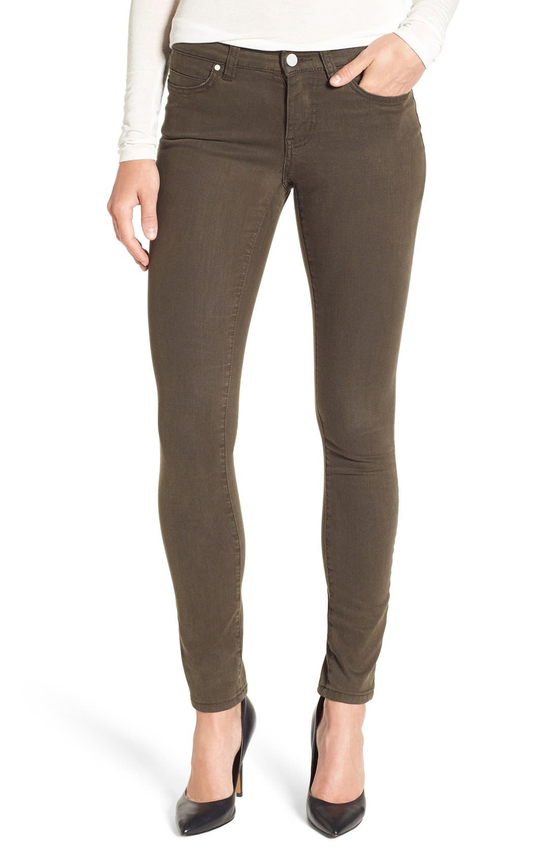 Alternate Image 1 Selected - Caslon® Colored Skinny Jeans