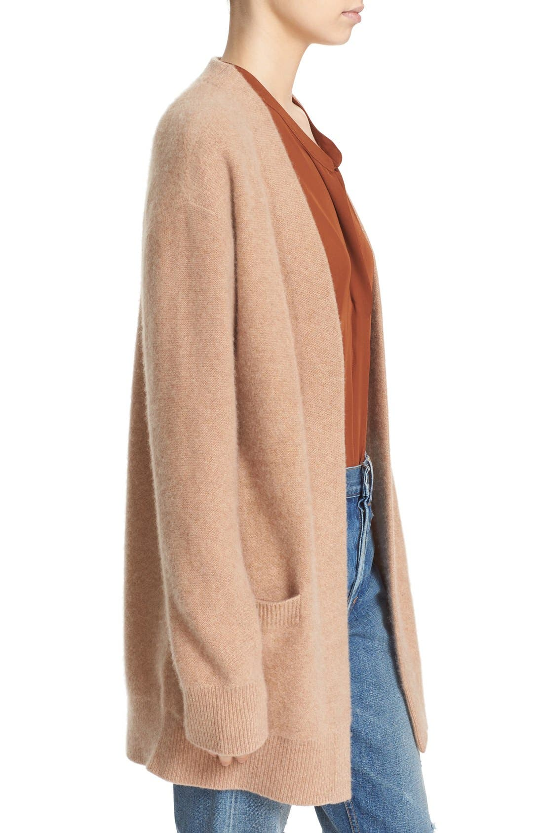 Alternate Image 3  - Vince Open Front Cashmere Cardigan