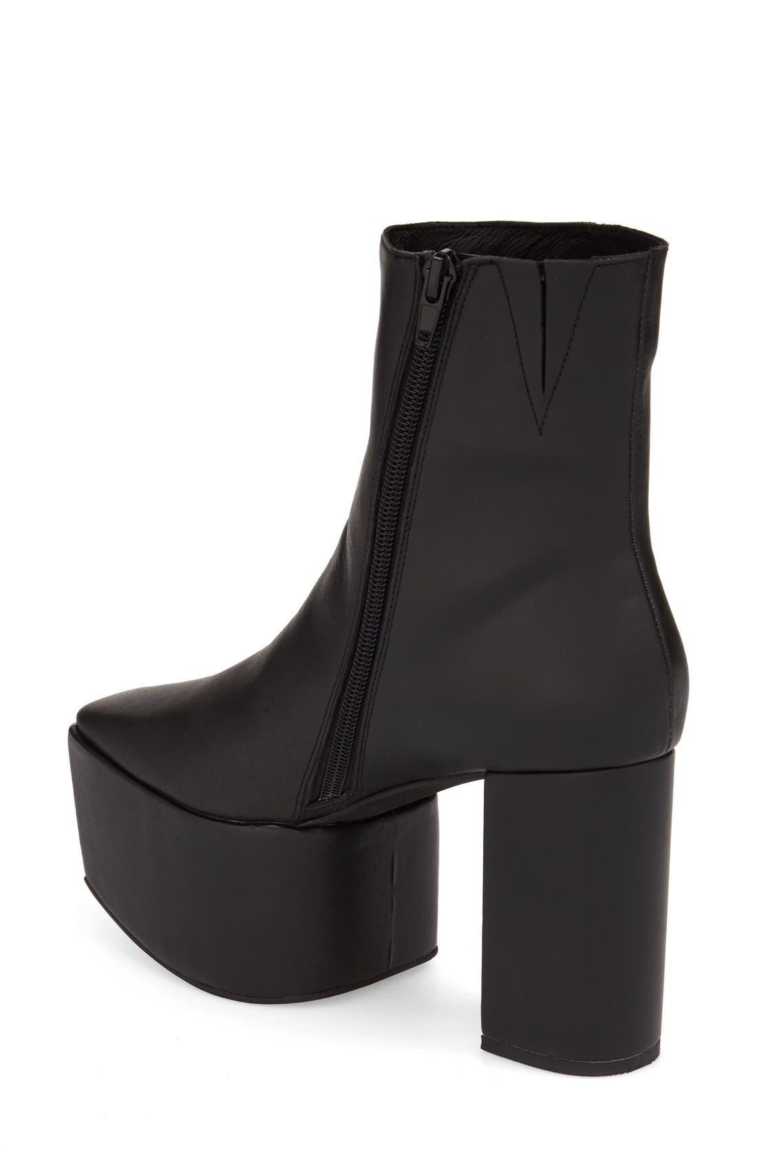 Alternate Image 2  - Jeffrey Campbell 'Marcade' Block Heel Platform Bootie (Women)